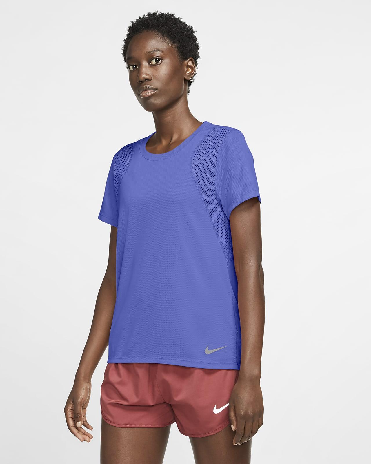 Nike Run 女款短袖跑步上衣