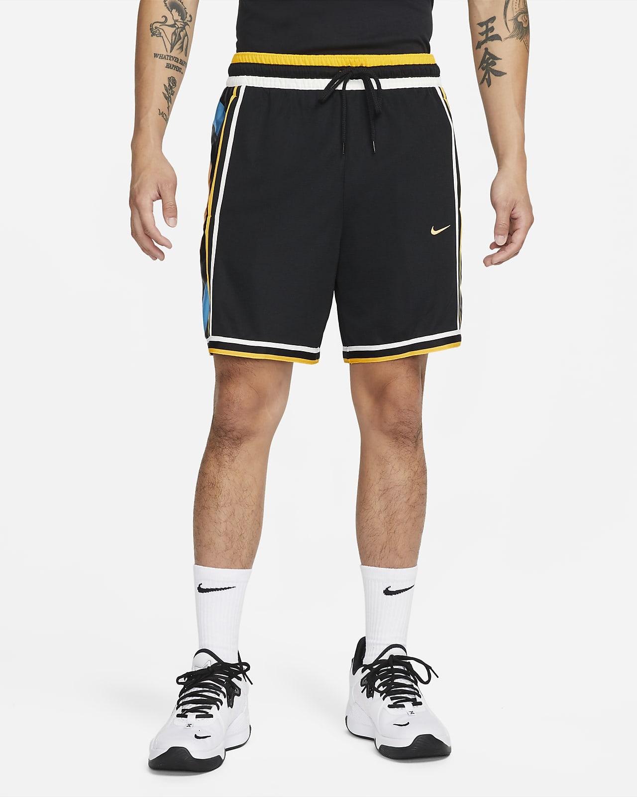 กางเกงบาสเก็ตบอลขาสั้นผู้ชาย Nike Dri-FIT DNA+