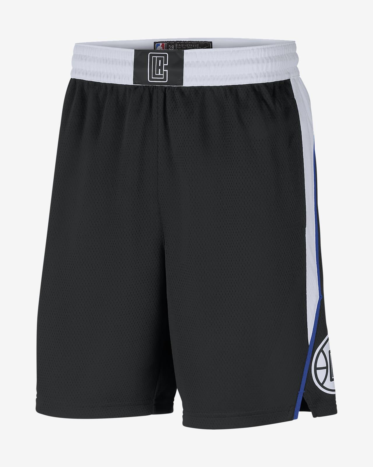 LA Clippers City Edition 2020 Men's Nike NBA Swingman Shorts