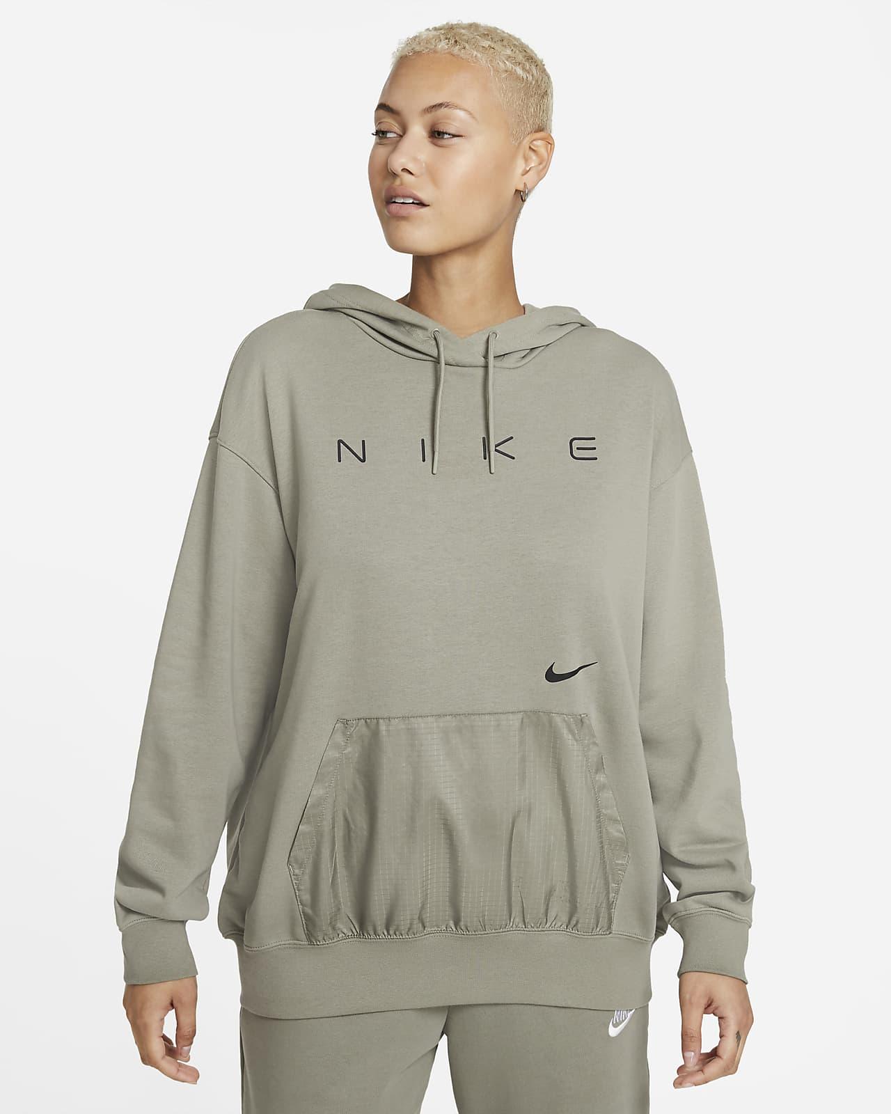Женская флисовая худи оверсайз Nike Sportswear