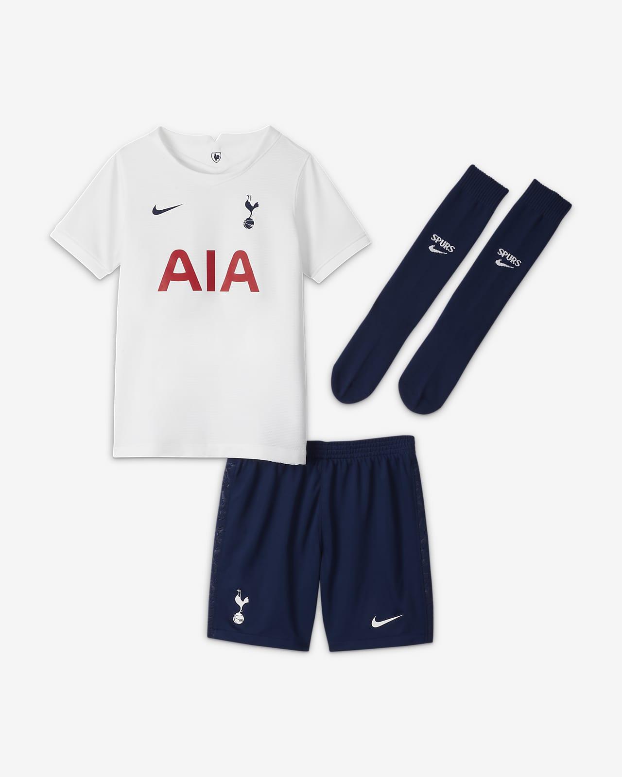 Tottenham Hotspur FC 2021/22 Home Fußballtrikot-Set für jüngere Kinder