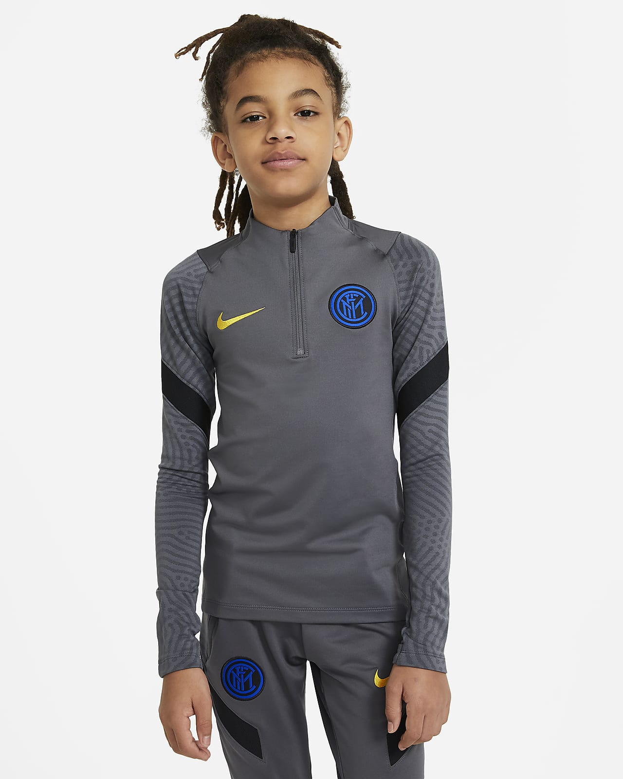 Inter Milan Strike Older Kids' Football Drill Top