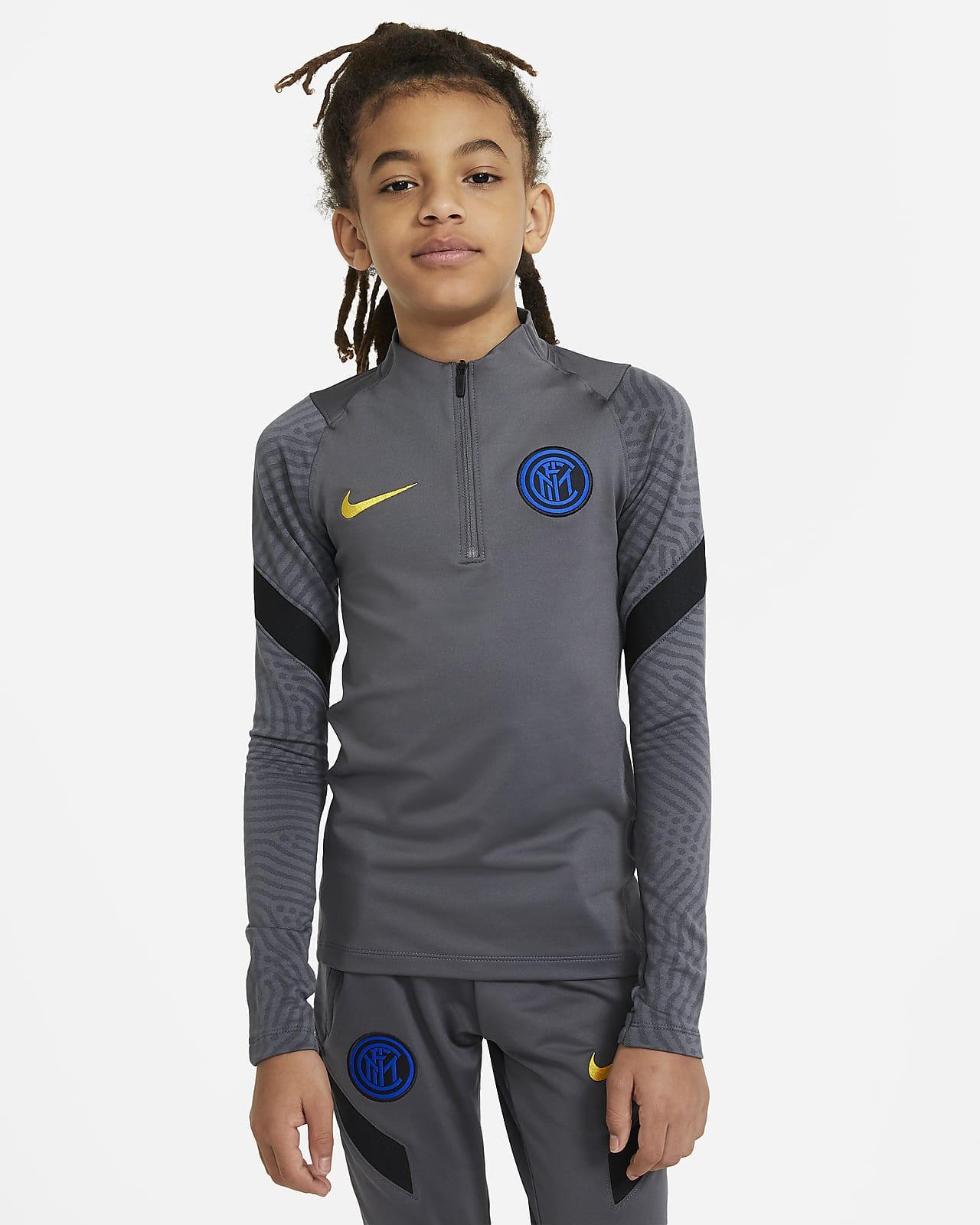 Prenda para la parte superior de entrenamiento de fútbol para niños talla grande Inter Milan Strike