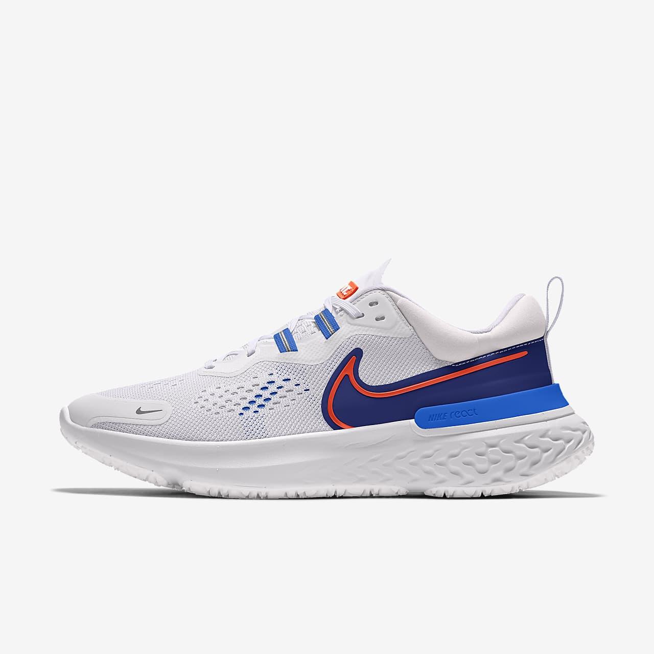 รองเท้าวิ่งผู้หญิงออกแบบเอง Nike React Miler 2 By You