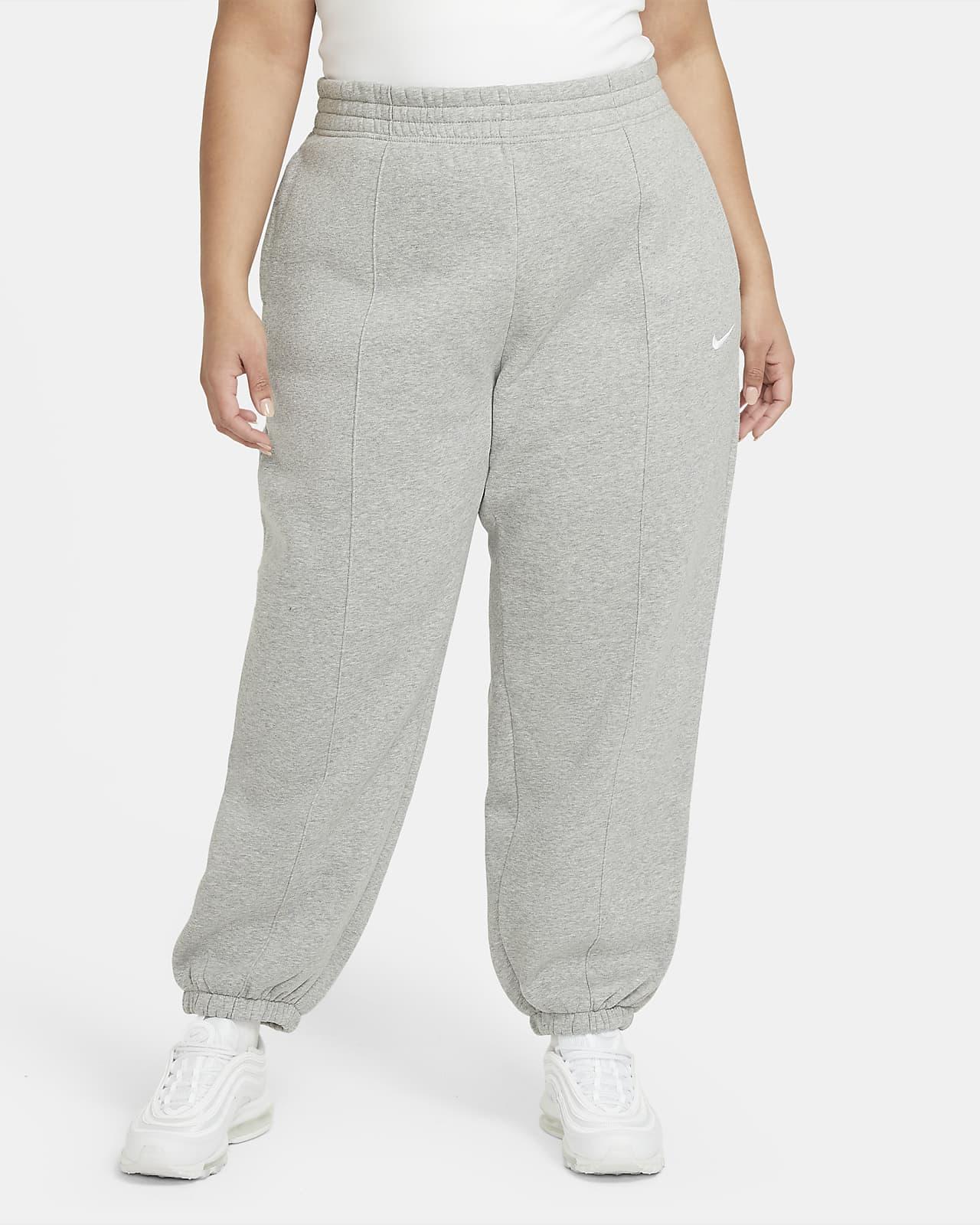 Damskie spodnie z dzianiny Nike Sportswear Trend (duże rozmiary)