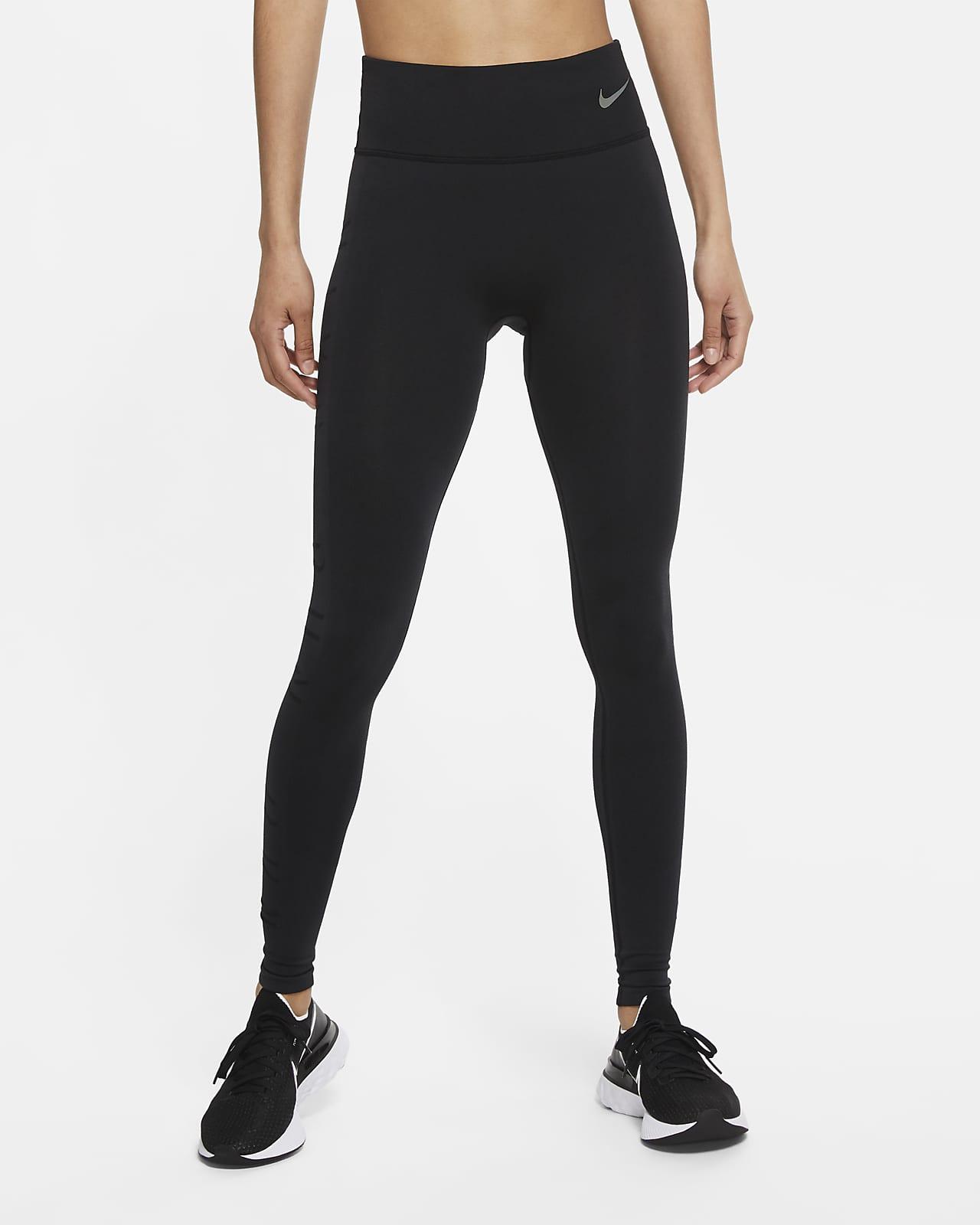 Nike Epic Luxe Run Division 3/4-Laufhose aus Wolle mit halbhohem Bund und Print für Damen