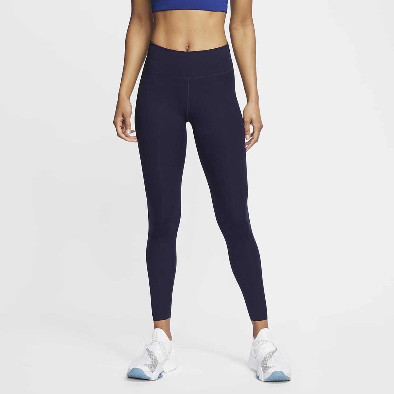 Nike One Luxe leggings med mellomhøyt liv til dame