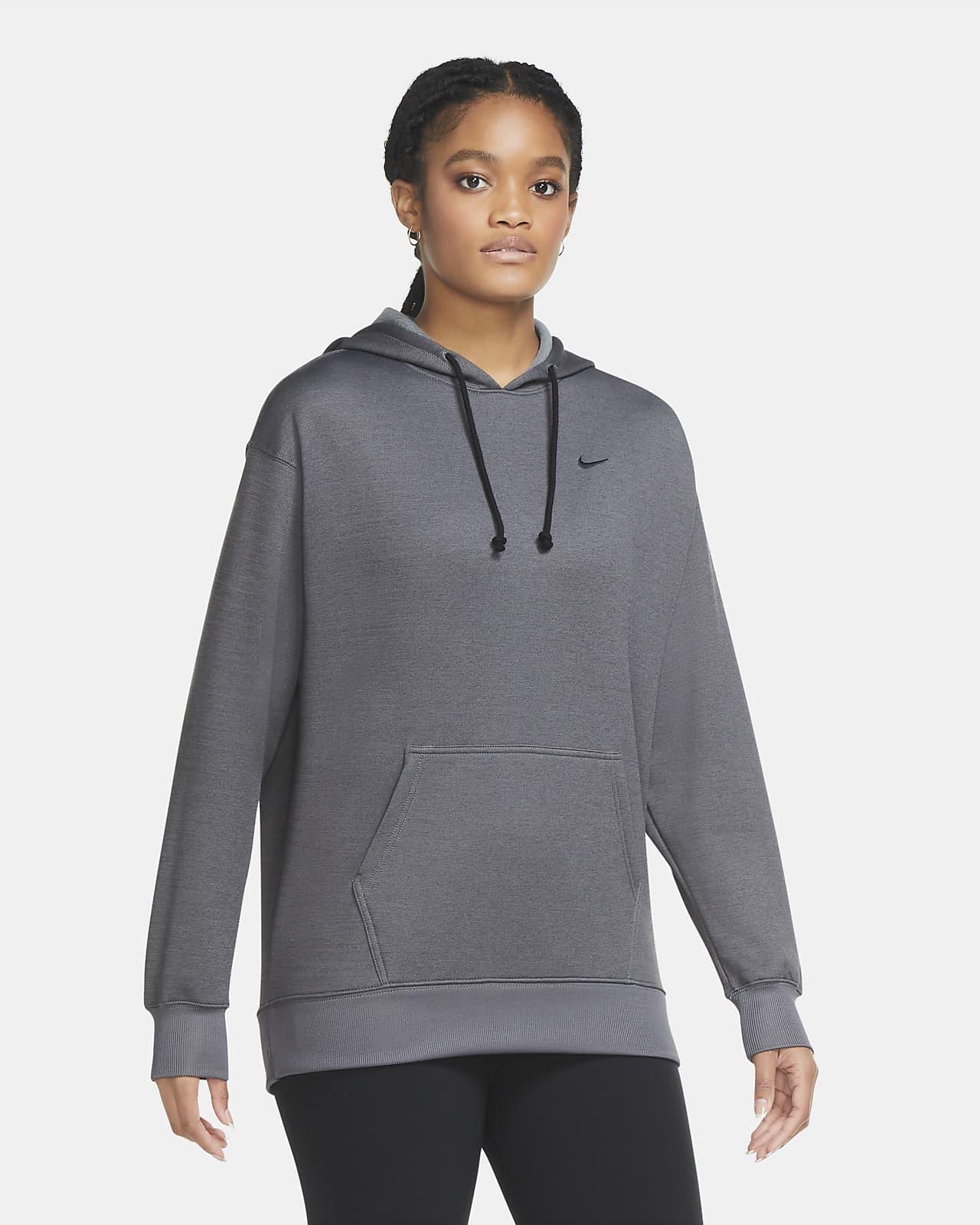 Sudadera con capucha de entrenamiento sin cierre para mujer Nike Therma