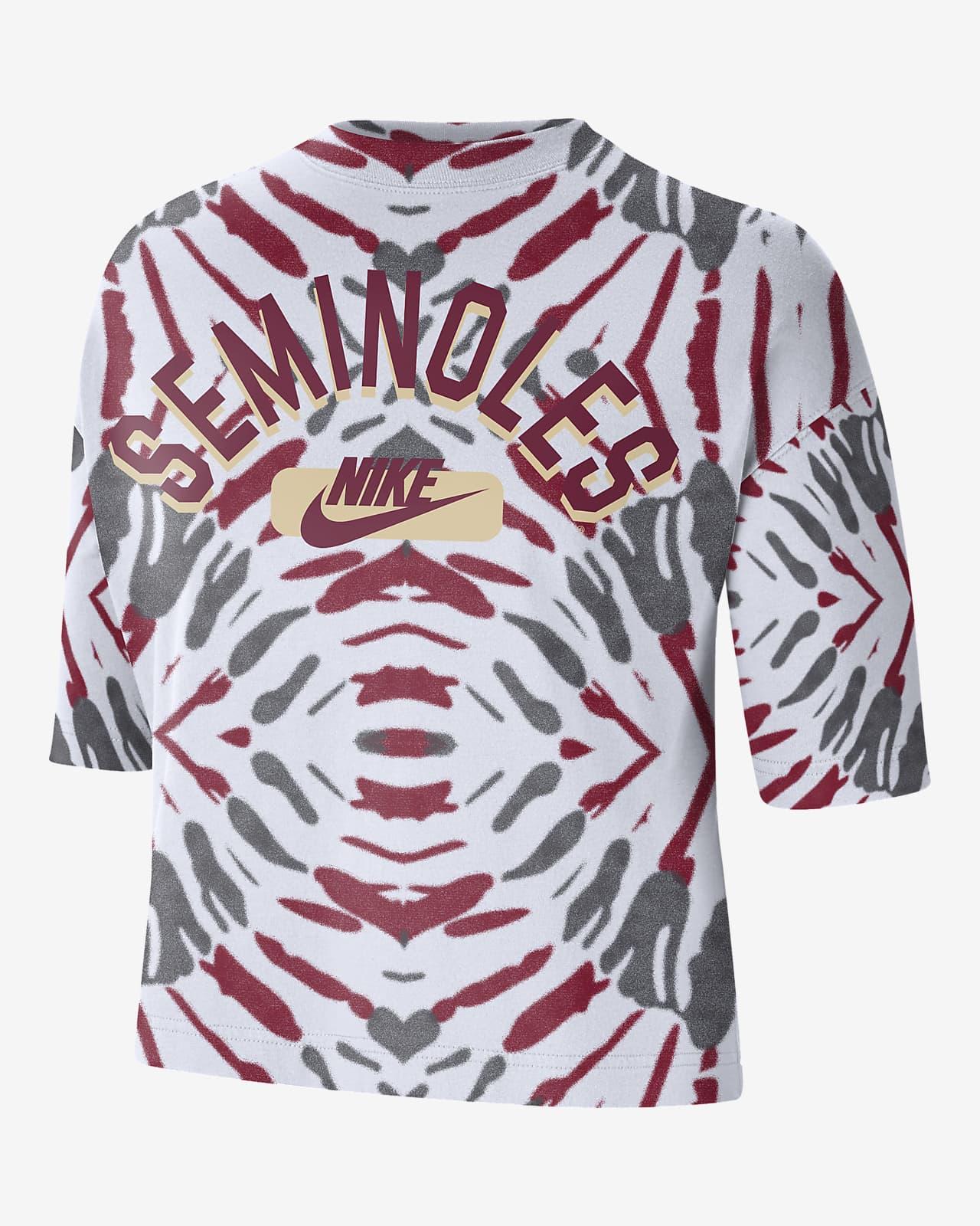 Nike College (Florida State) Women's Boxy Printed T-Shirt