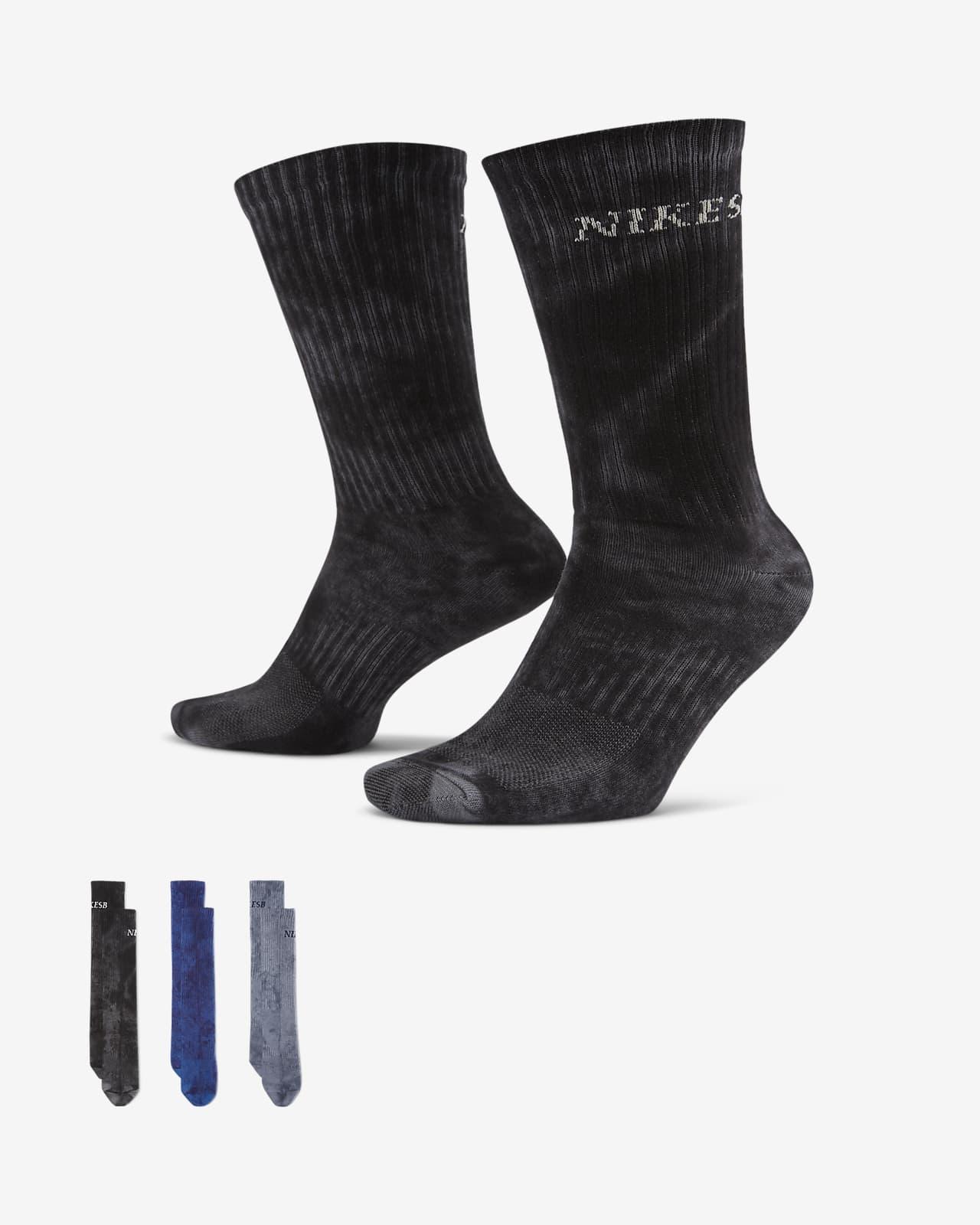 Calcetines deportivos de skateboarding Nike SB Everyday Plus Lightweight (3 pares)