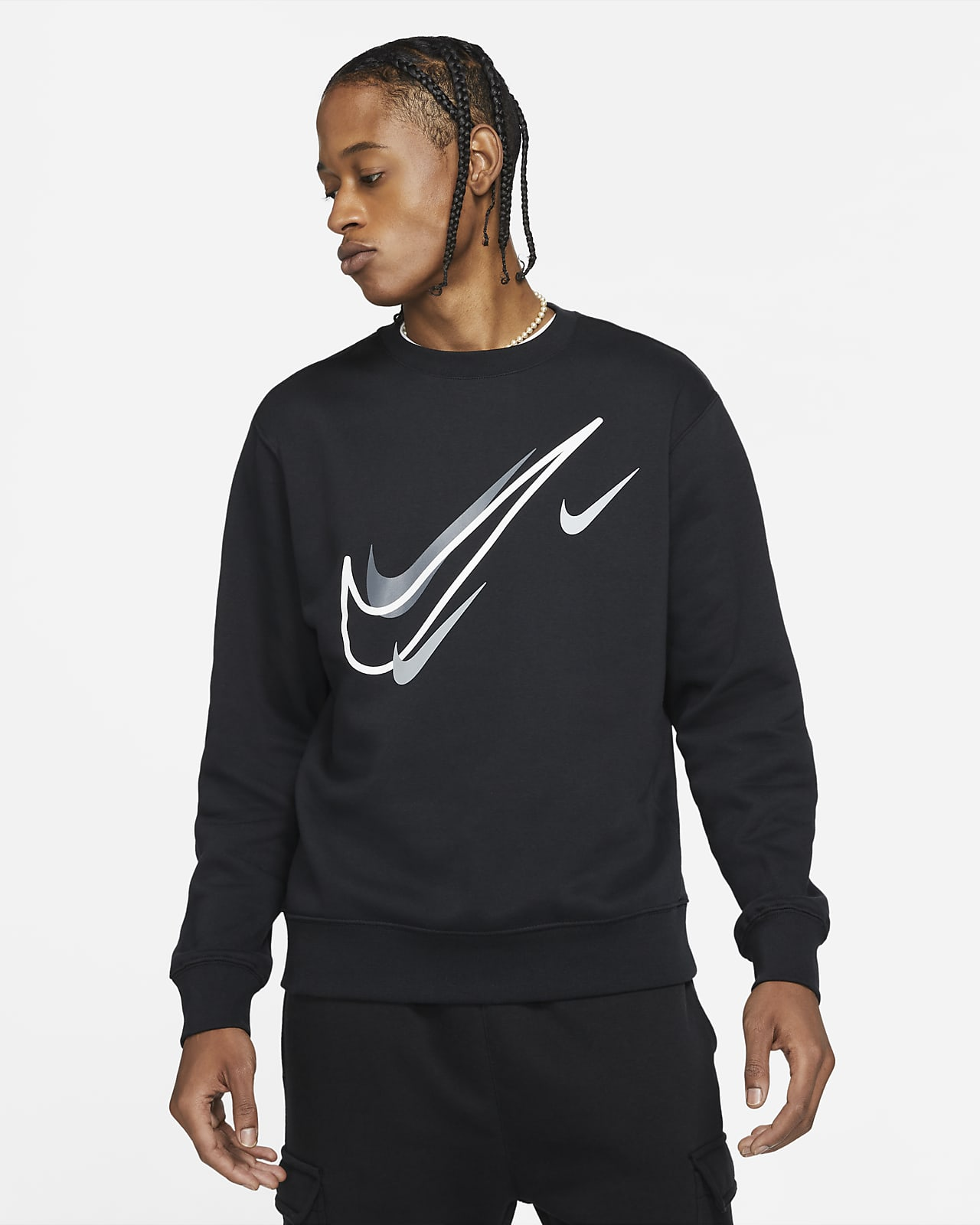 Fleecetröja Nike Sportswear för män