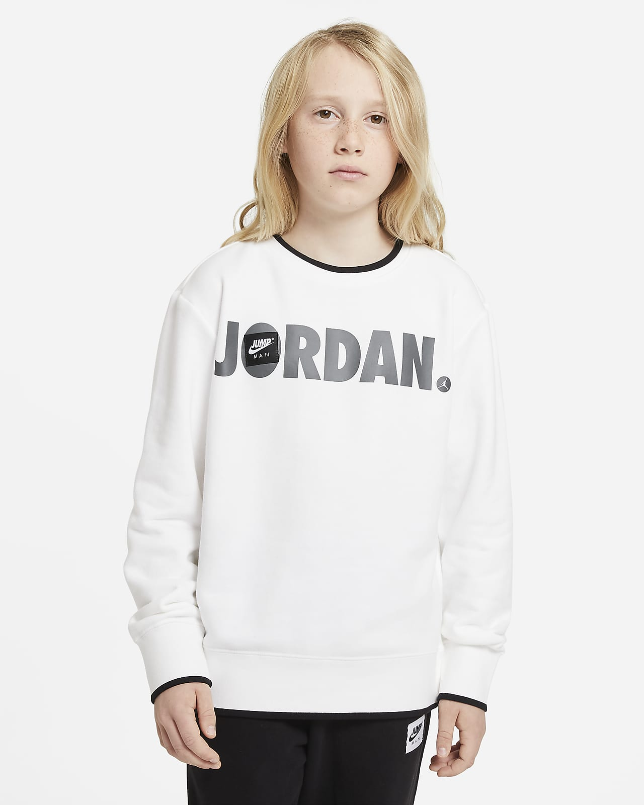 Jordan top met ronde hals voor jongens