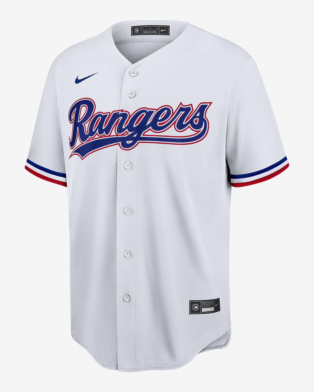 Camiseta de béisbol Replica para hombre MLB Texas Rangers (Rougned Odor)