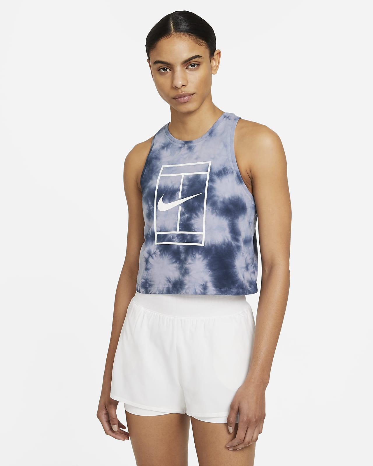 Camiseta de tirantes de tenis tie-dye para mujer NikeCourt
