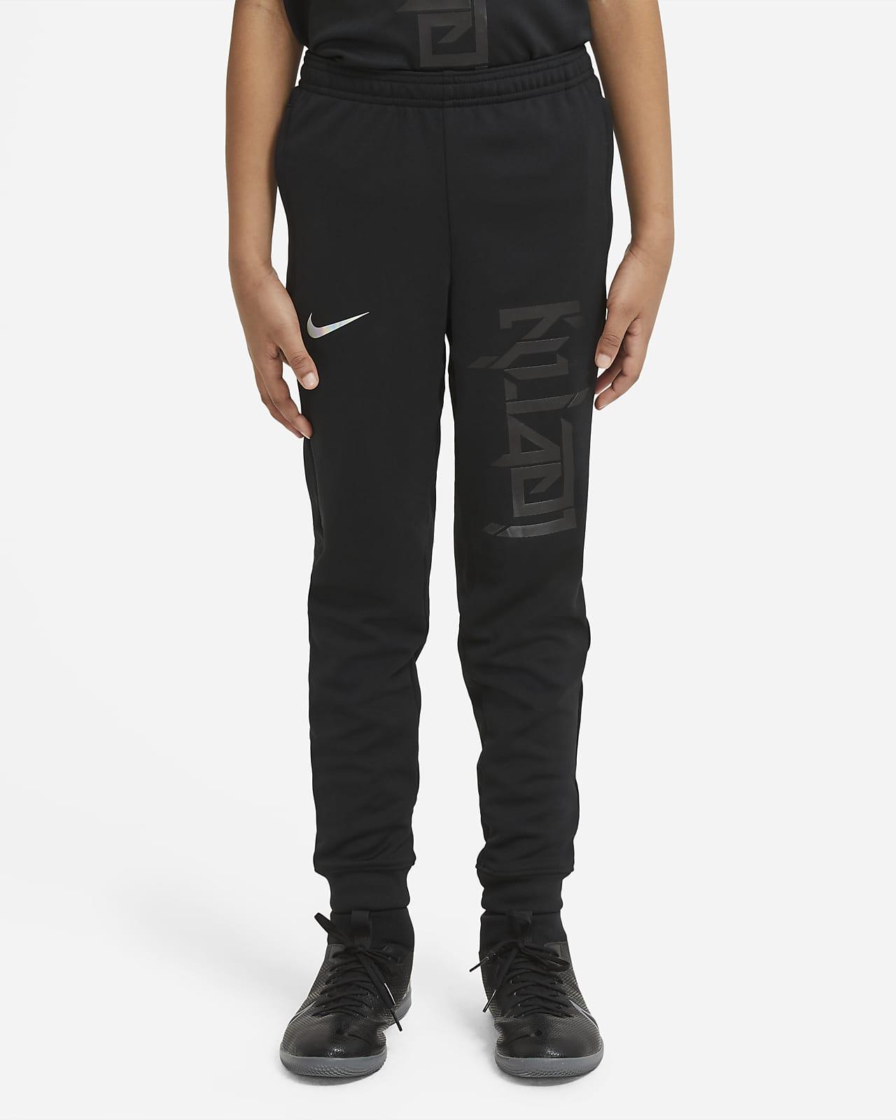 Pantalon de football en maille Nike Dri-FIT Kylian Mbappé pour Enfant plus âgé