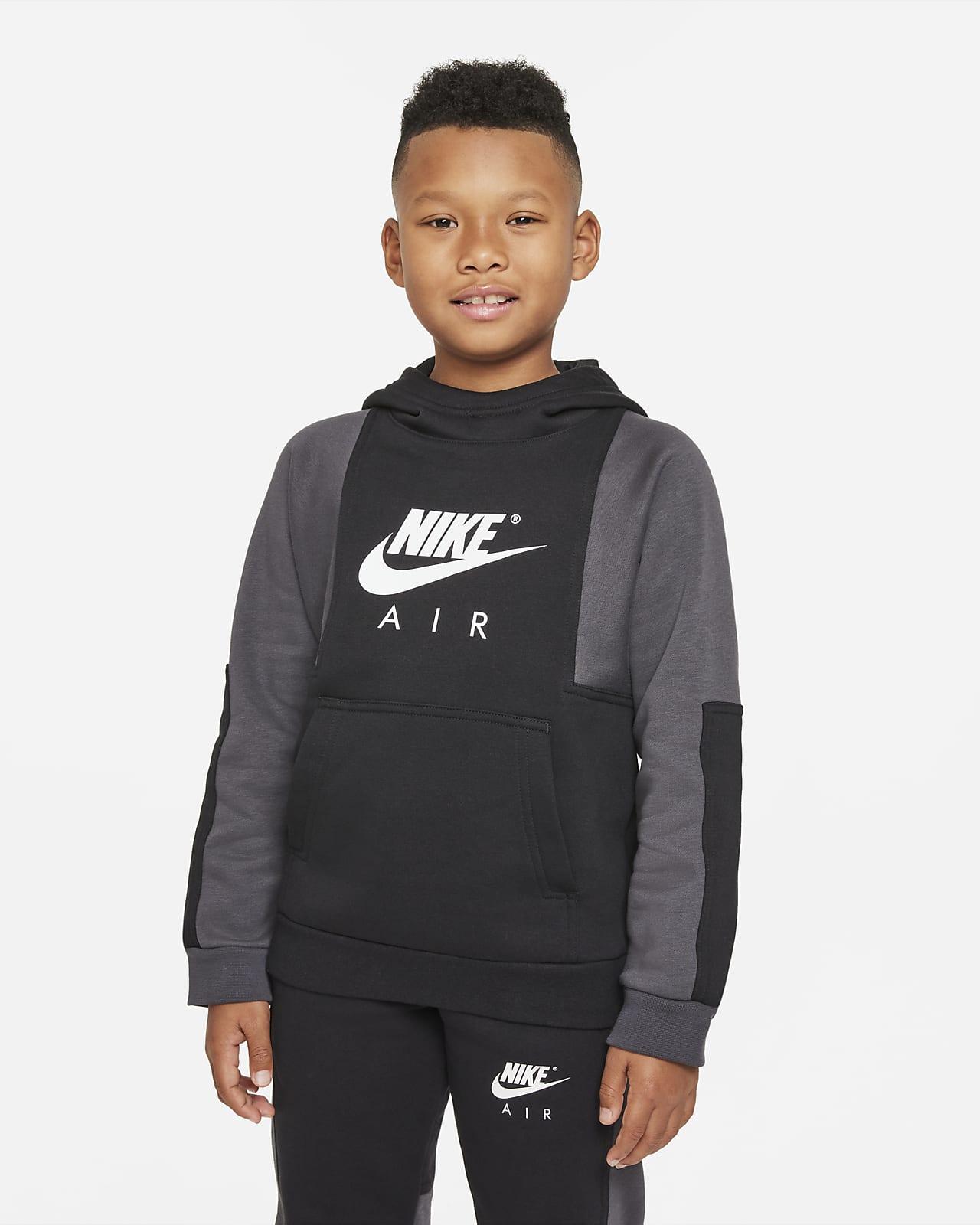 Hoodie pullover Nike Air Júnior (Rapaz)