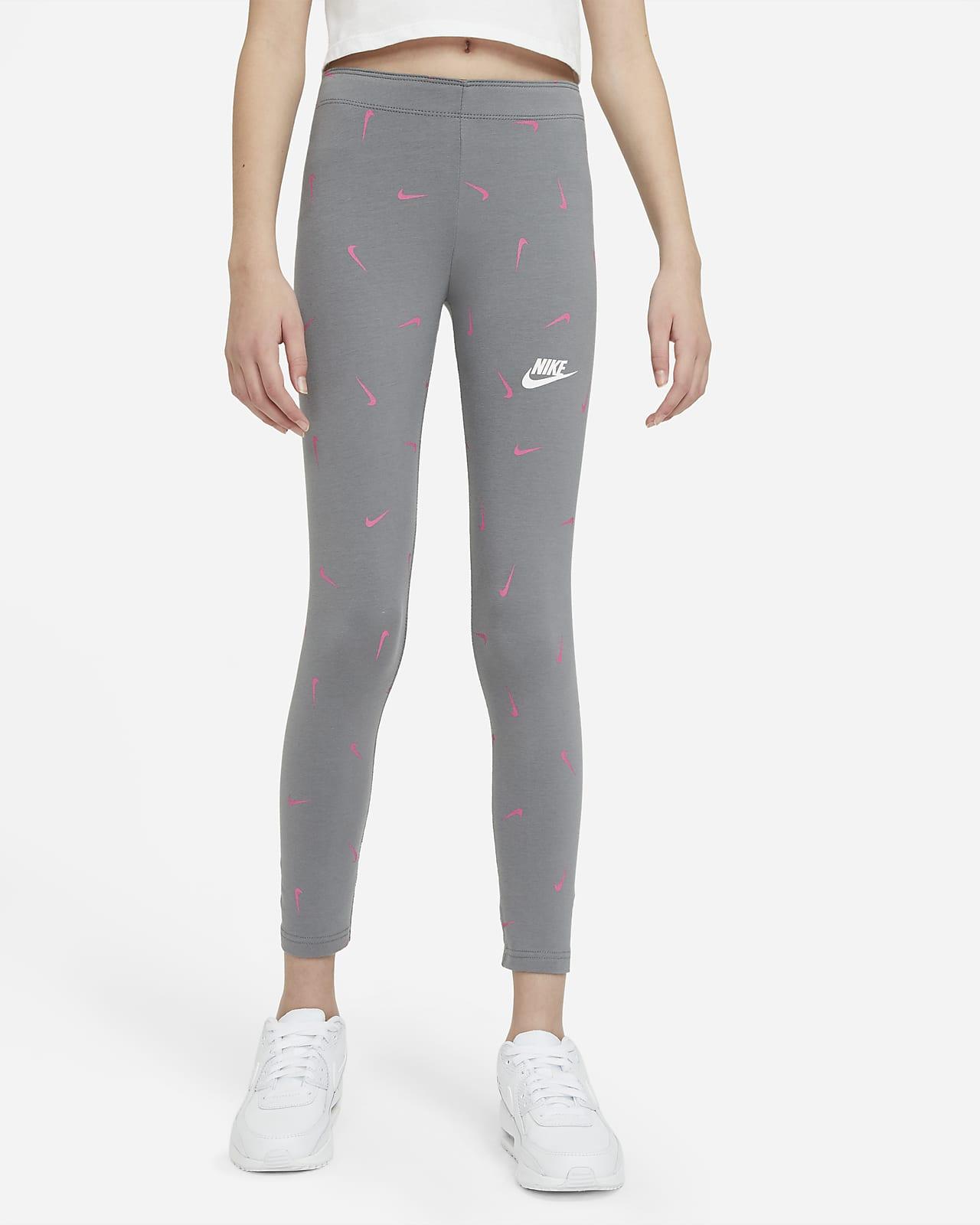 Nike Sportswear Older Kids' (Girls') Printed Leggings