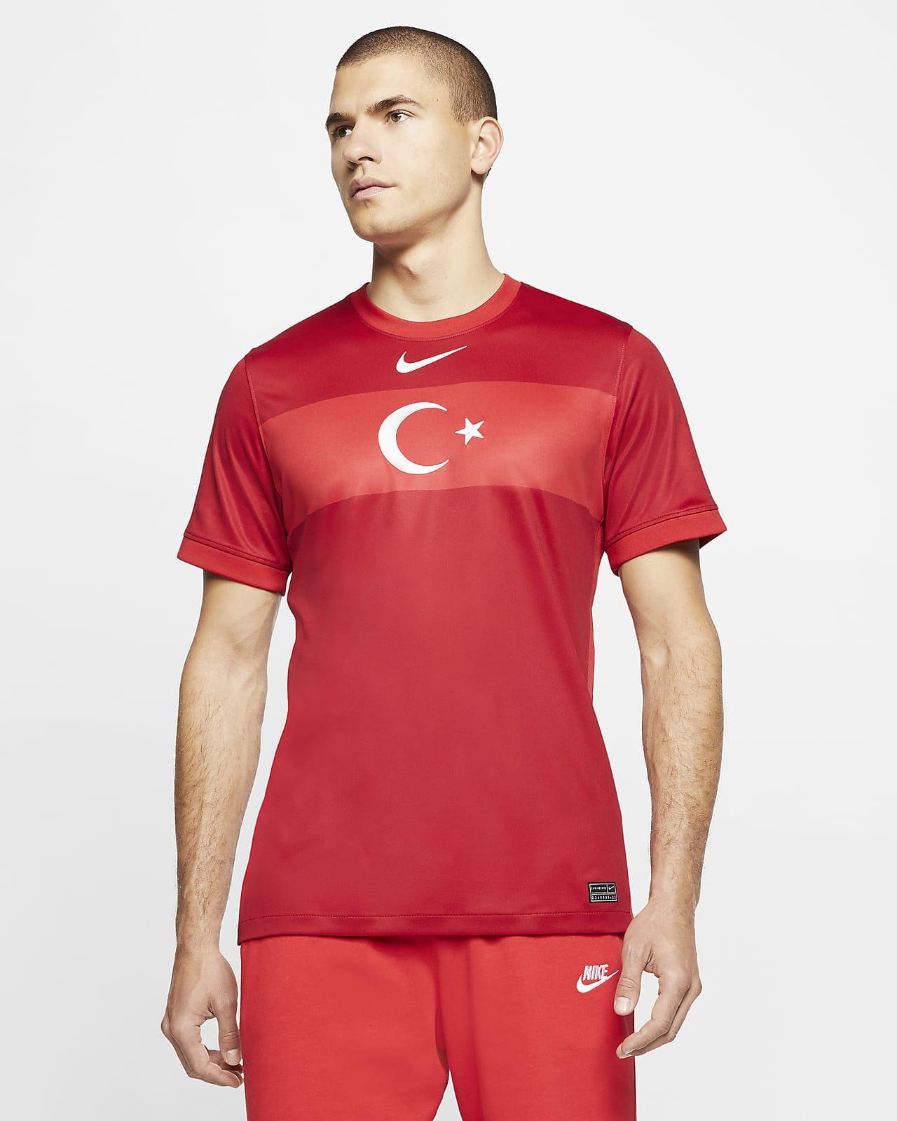 Palacio escalera mecánica Existencia  Camiseta de fútbol para hombre de visitante de Turquía 2020 Stadium. Nike CL