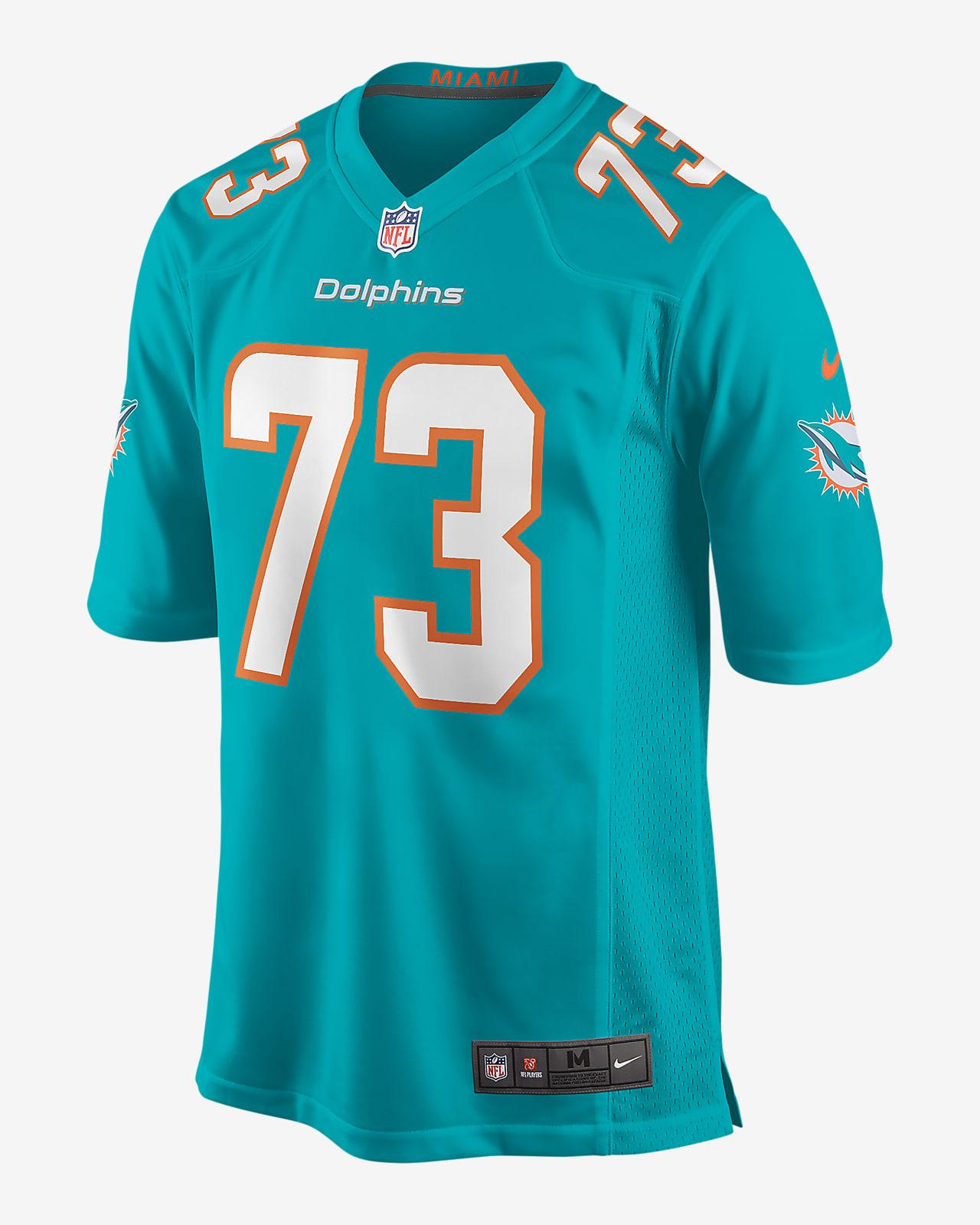 NFL Miami Dolphins (Austin Jackson) Men's Game Football Jersey
