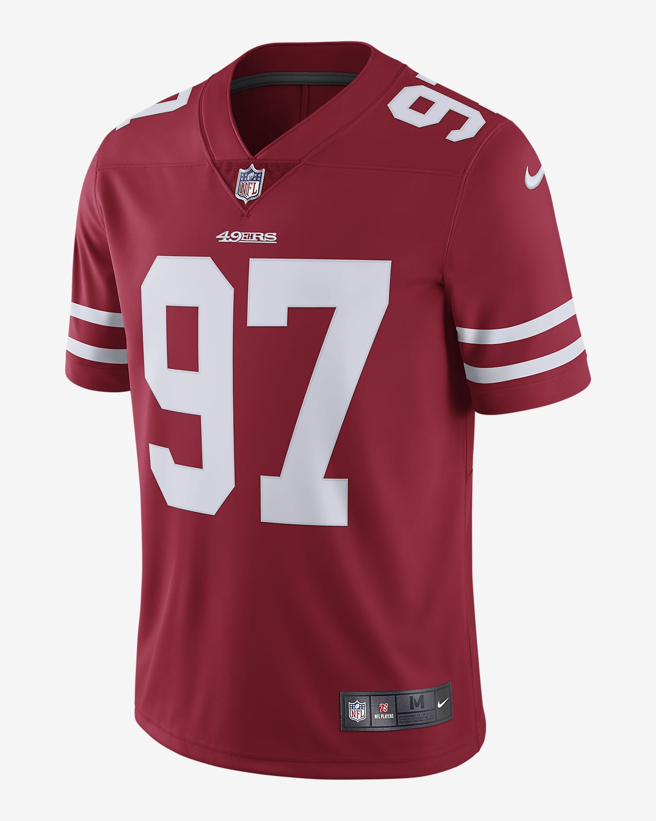 NFL San Francisco 49ers (Nick Bosa) Men's Limited Vapor Untouchable Football Jersey