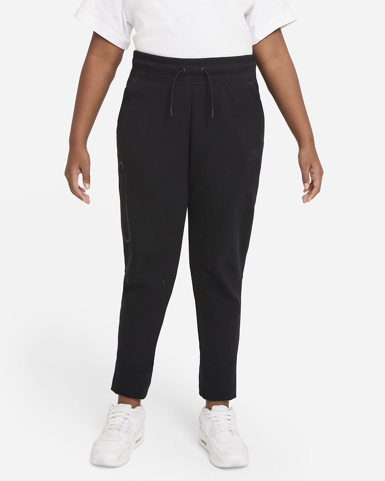 Nike Sportswear Tech Fleece Big Kids' (Girls') Pants (Extended Size)