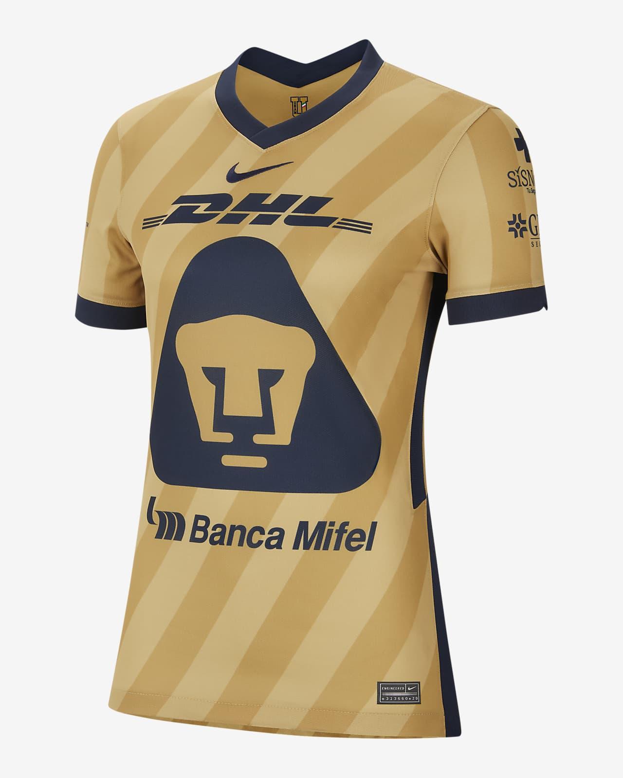Pumas UNAM 2020/21 Stadium Third Women's Soccer Jersey. Nike.com