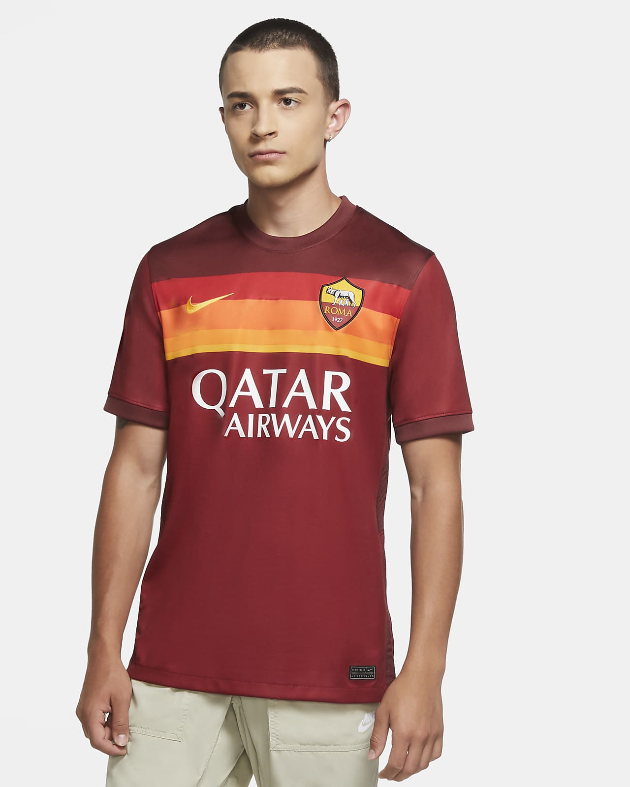 Pánský domácí fotbalový dres A.S. Roma Stadium 2020/21