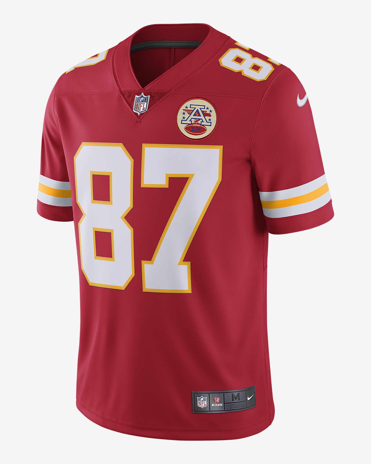 NFL Kansas City Chiefs Vapor Untouchable (Travis Kelce) Men's Limited Football Jersey