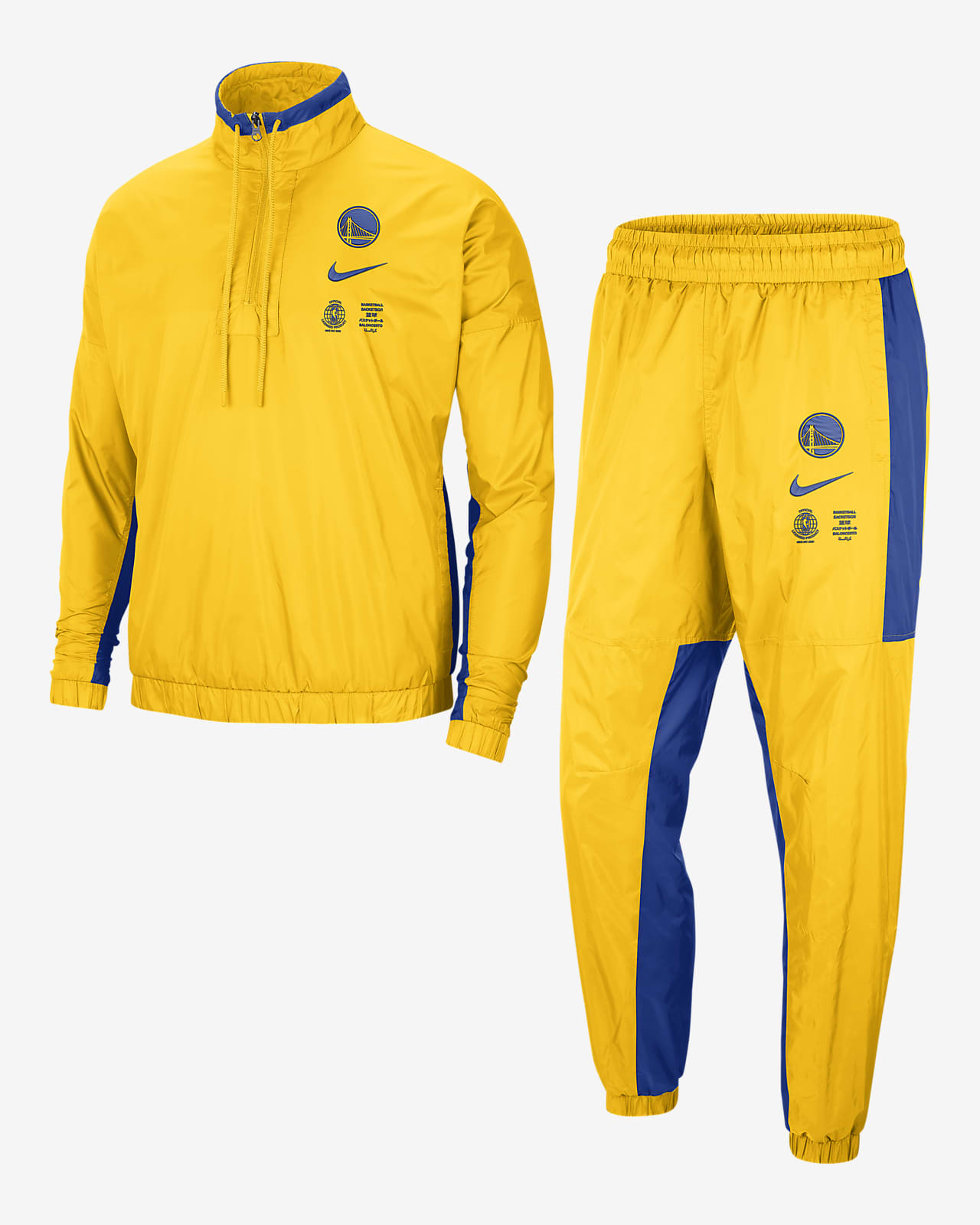 Conjunto de entrenamiento Nike NBA para hombre Golden State Warriors Nike Courtside