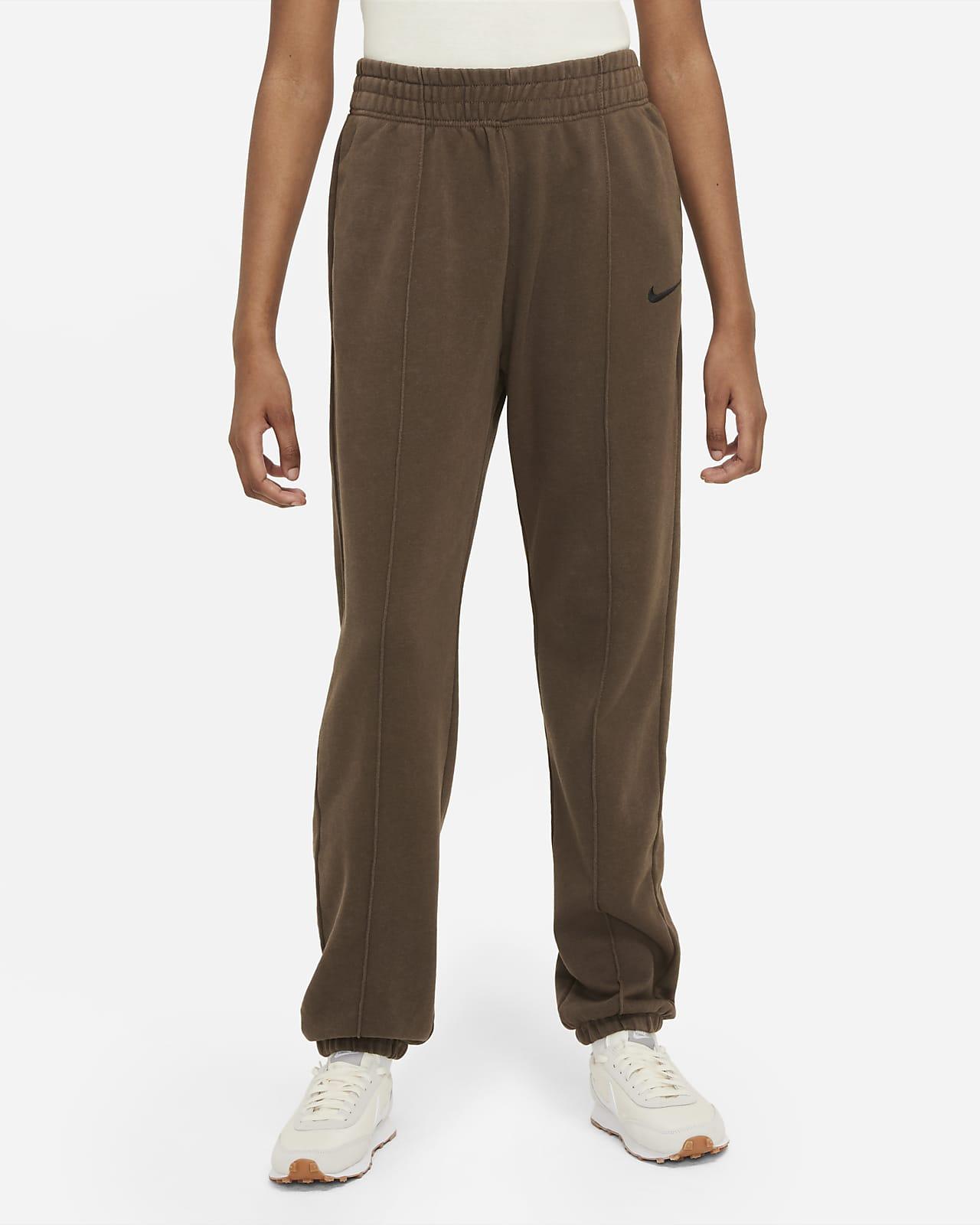 Pantalon en tissu Fleece délavé Nike Sportswear Essential Collection pour Femme