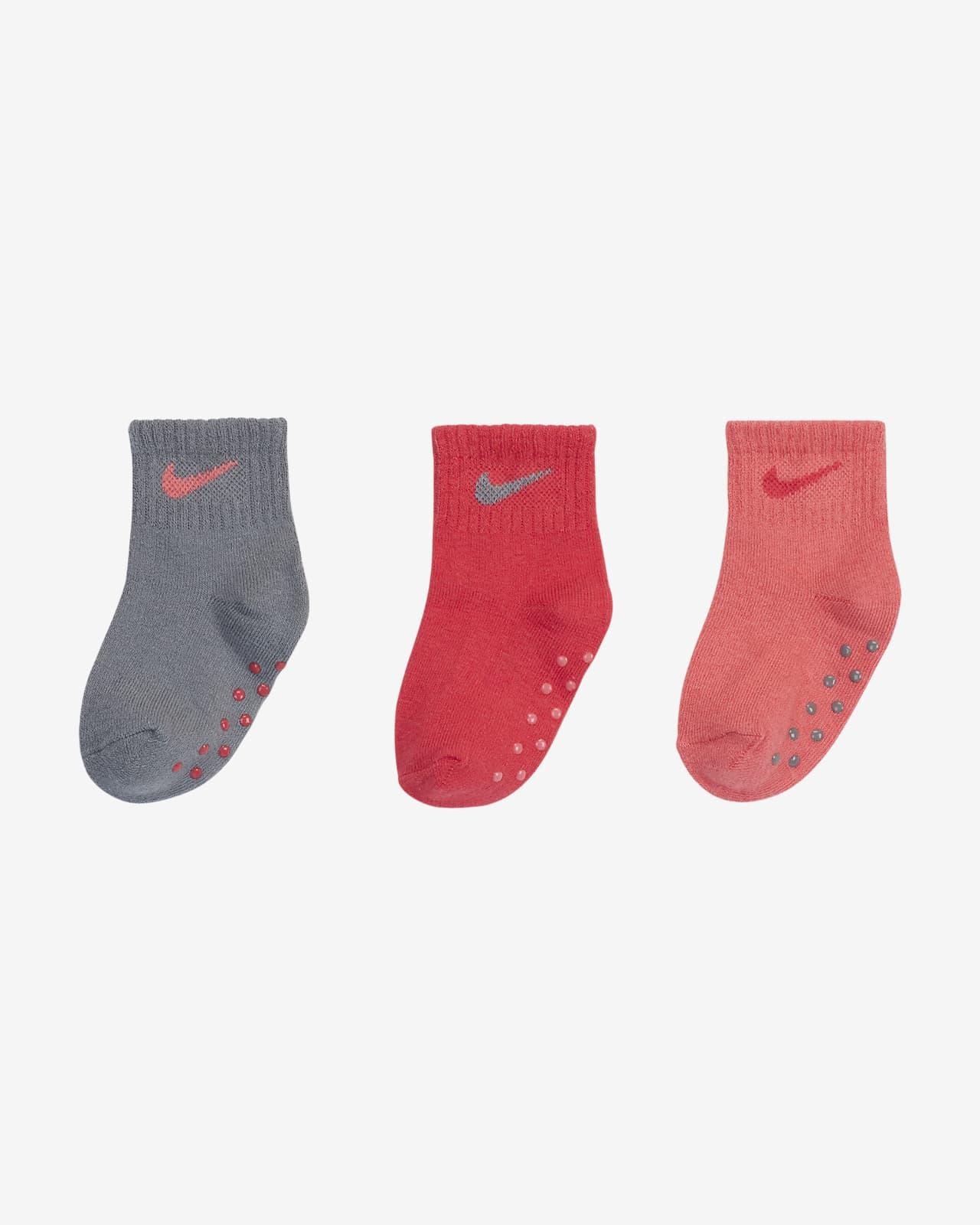 Nike Toddler Gripper Socks (3 Pairs)