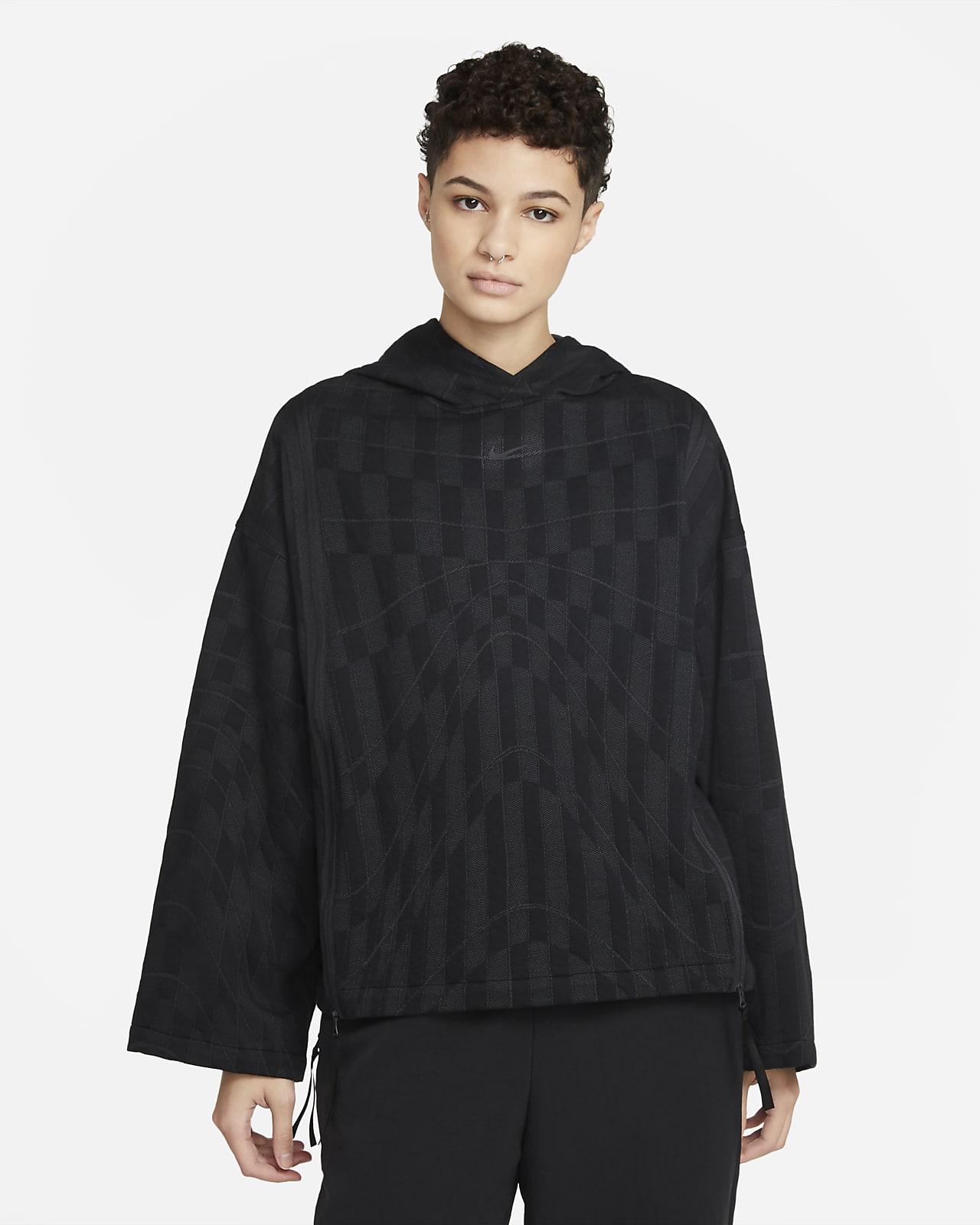 Γυναικεία μπλούζα με κουκούλα Nike Sportswear Tech Pack