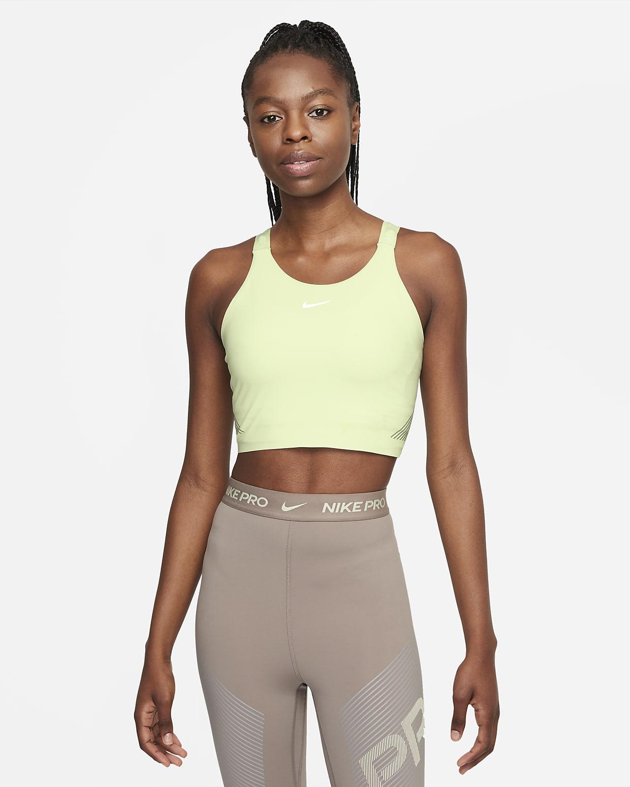 Camiseta de tirantes corta con sujetador para mujer Nike Pro Dri-FIT