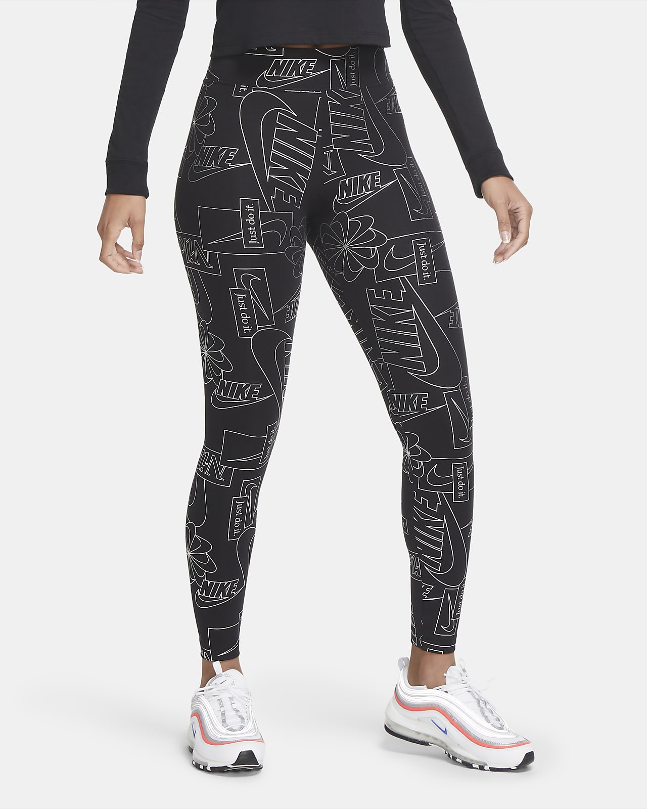 Legging taille haute Nike Sportswear Icon Clash pour Femme