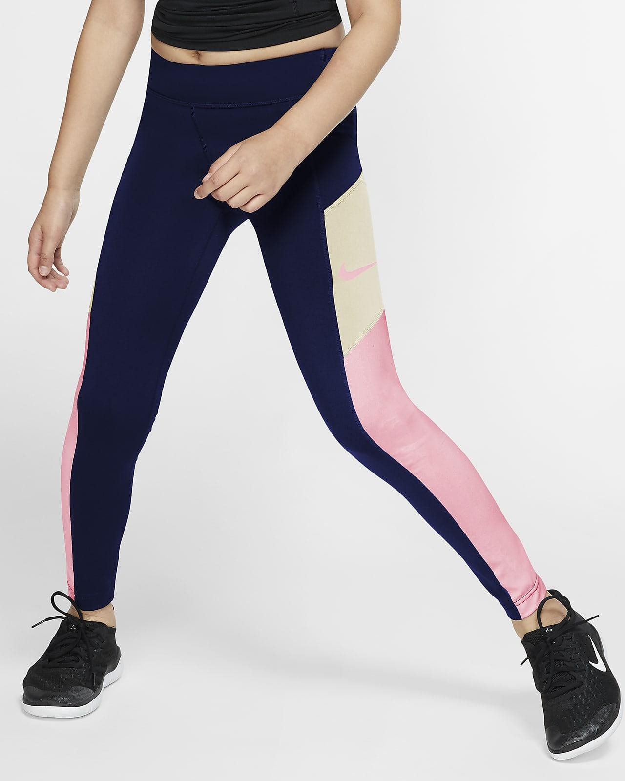 Nike Trophy leggings edzéshez nagyobb gyerekeknek (lányok)