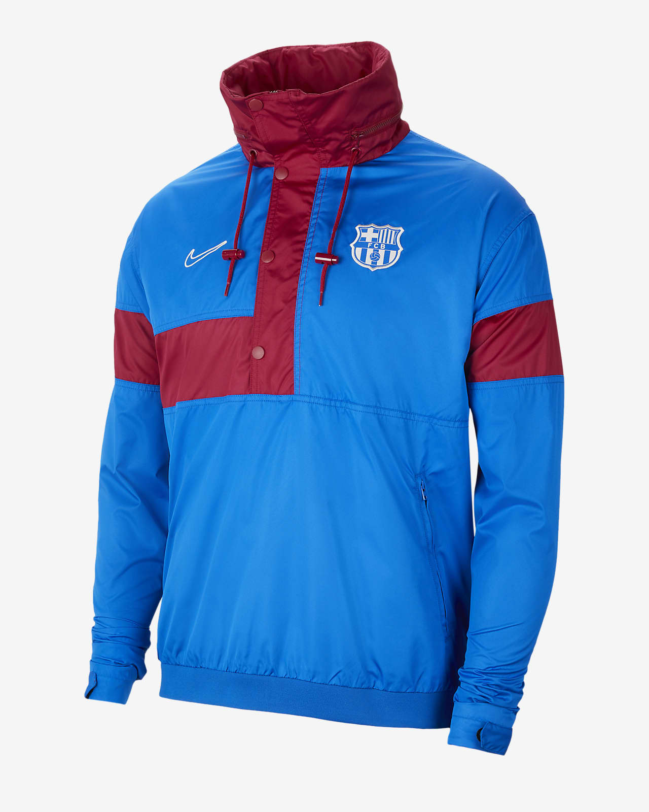 F.C. Barcelona Men's Football Anorak Jacket
