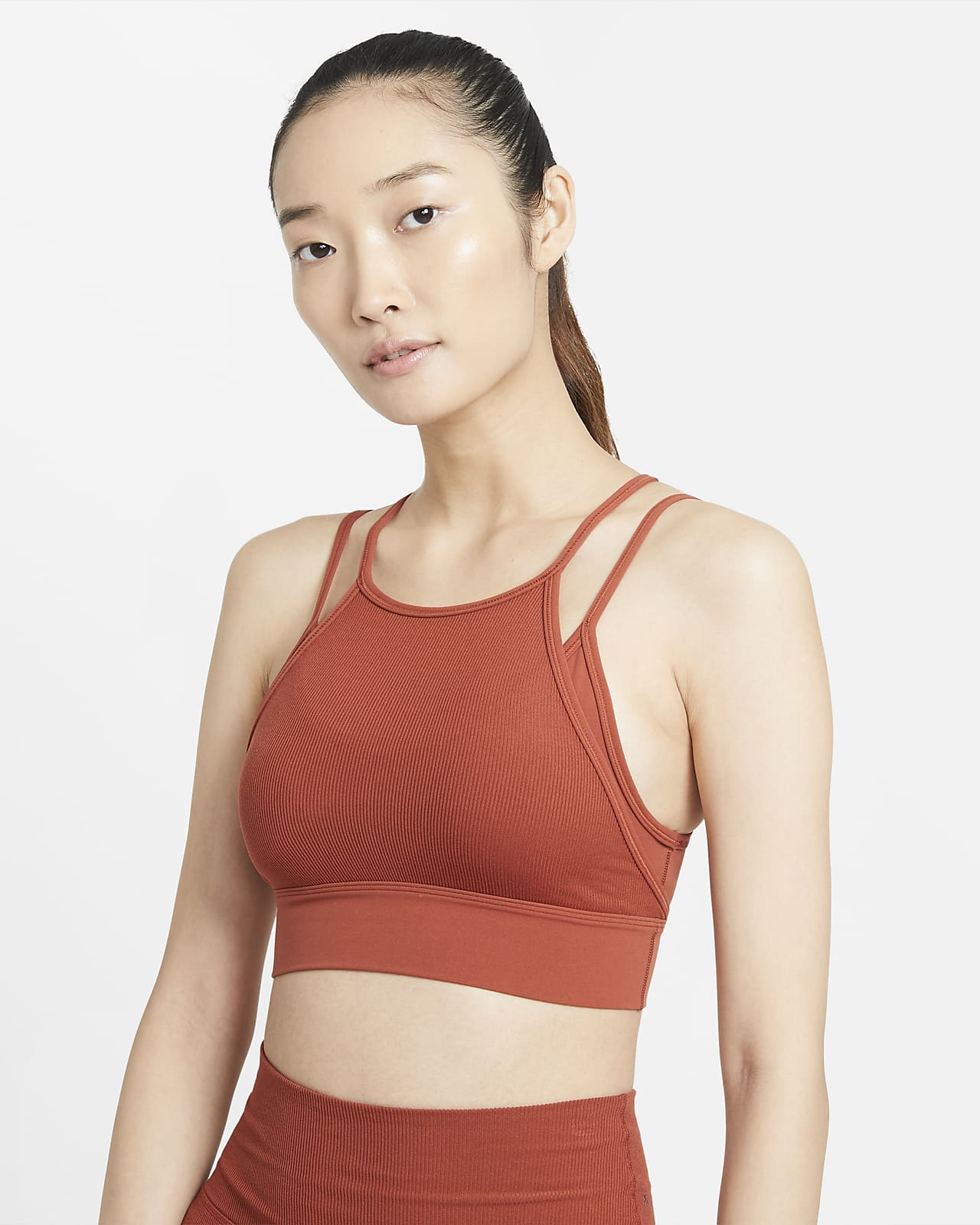 Nike Yoga Indy Novelty 女款輕度支撐型運動內衣