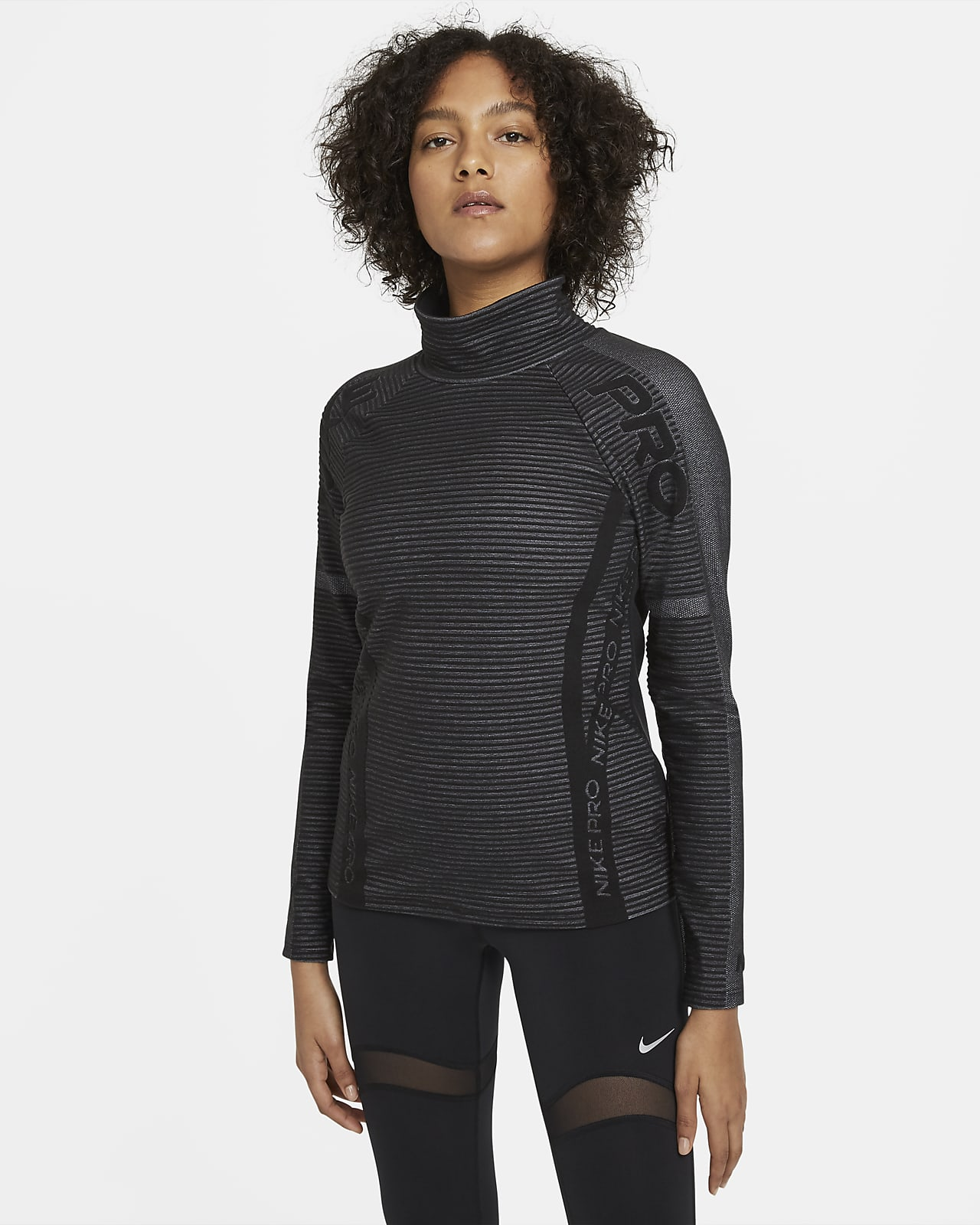 Nike Pro HyperWarm Women's Long-Sleeve Top