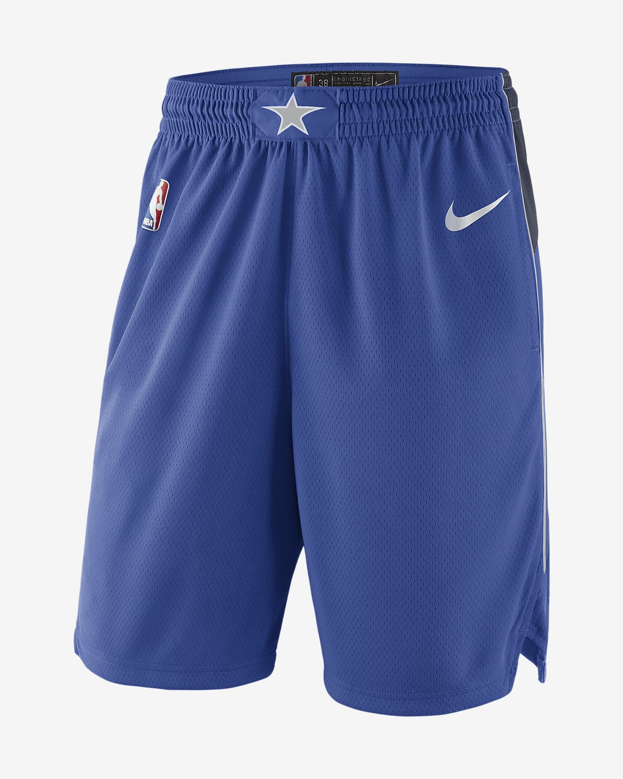 Dallas Mavericks Icon Edition Swingman-NBA-shorts til mænd