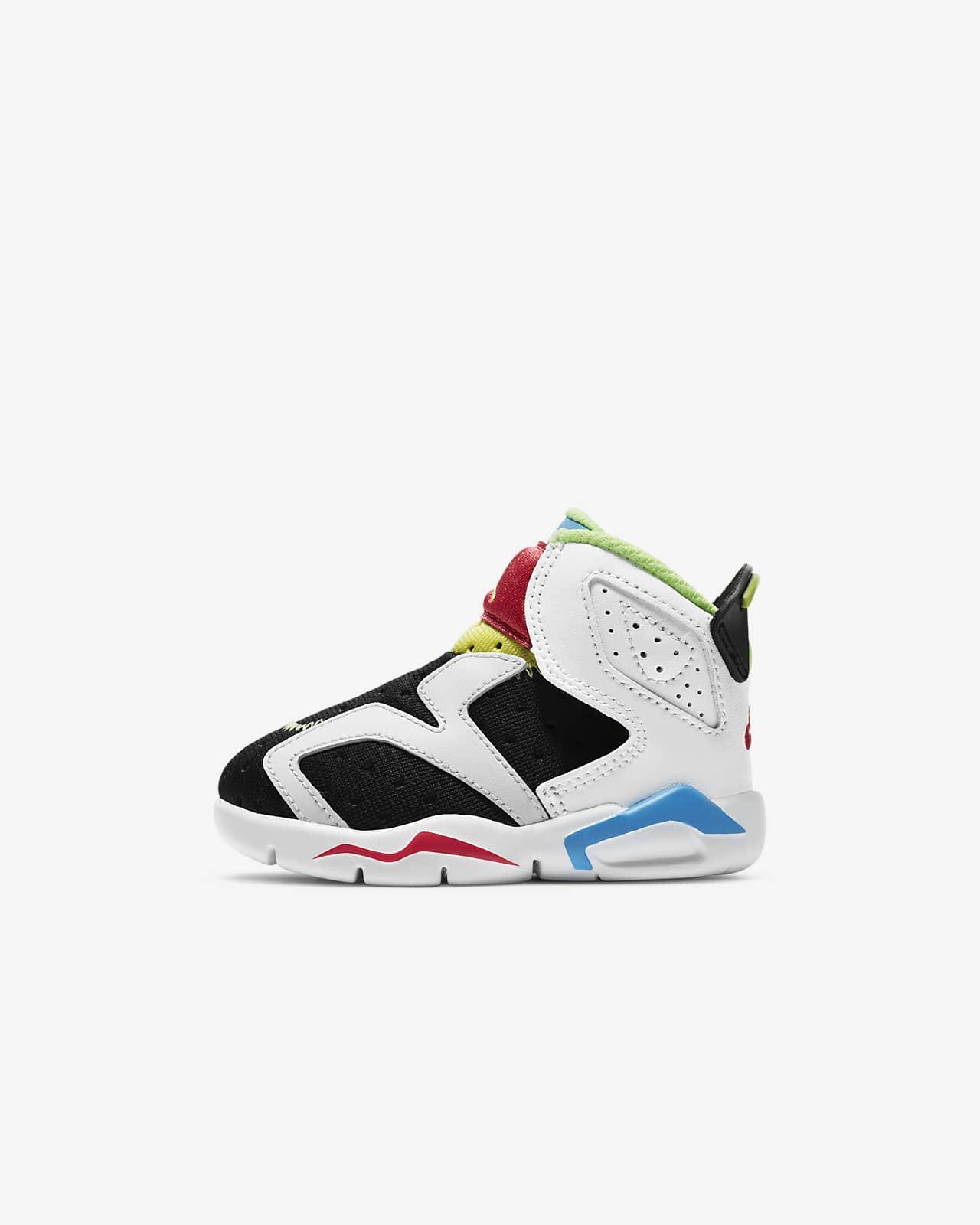 Jordan 6 Retro Little Flex TD 复刻婴童运动童鞋
