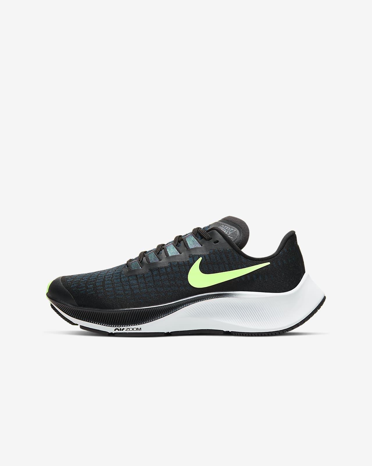 Maestría Janice Ajustamiento  Calzado de running para niño talla grande Nike Air Zoom Pegasus 37. Nike.com