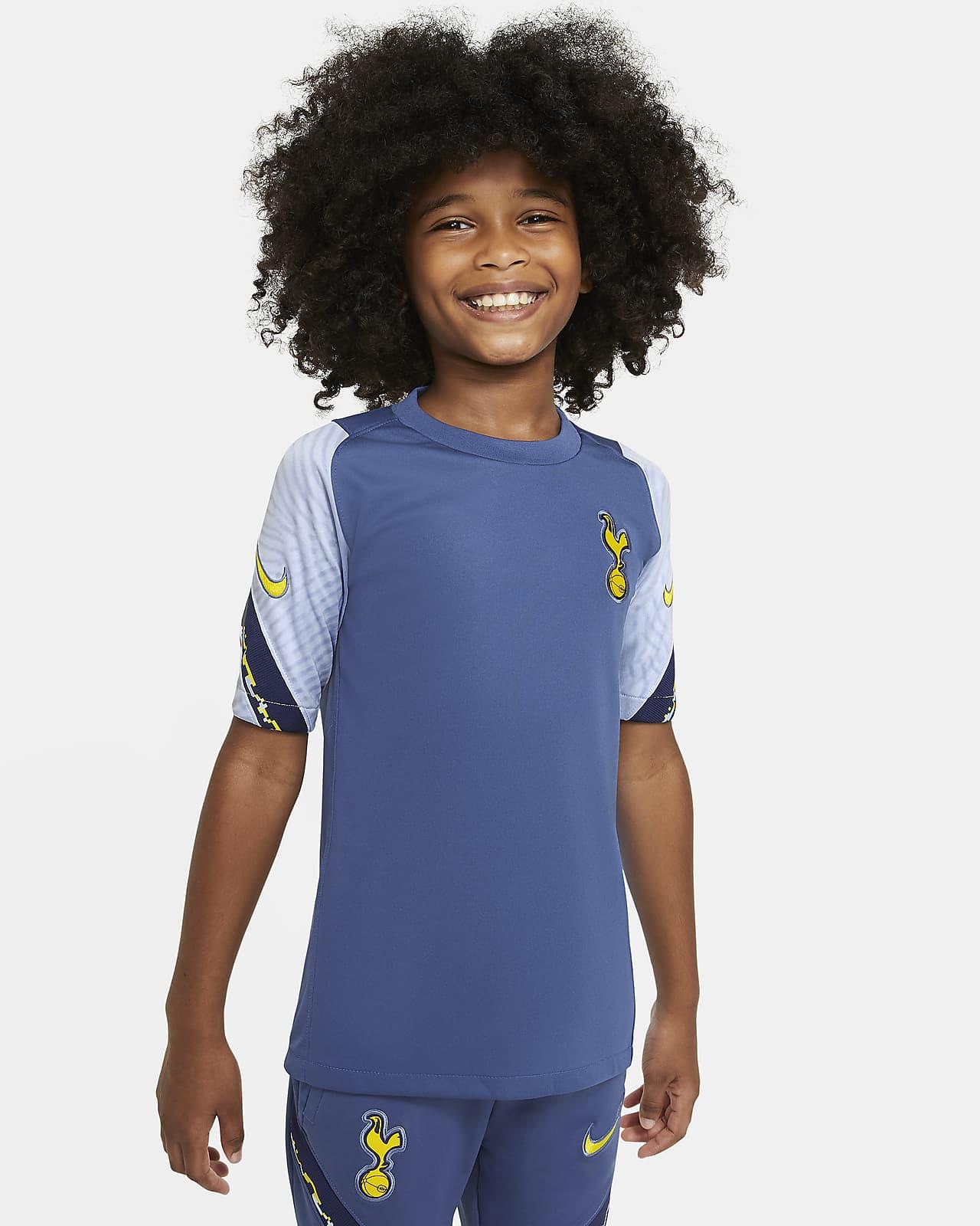 Tottenham Hotspur Strike Older Kids' Short-Sleeve Football Top