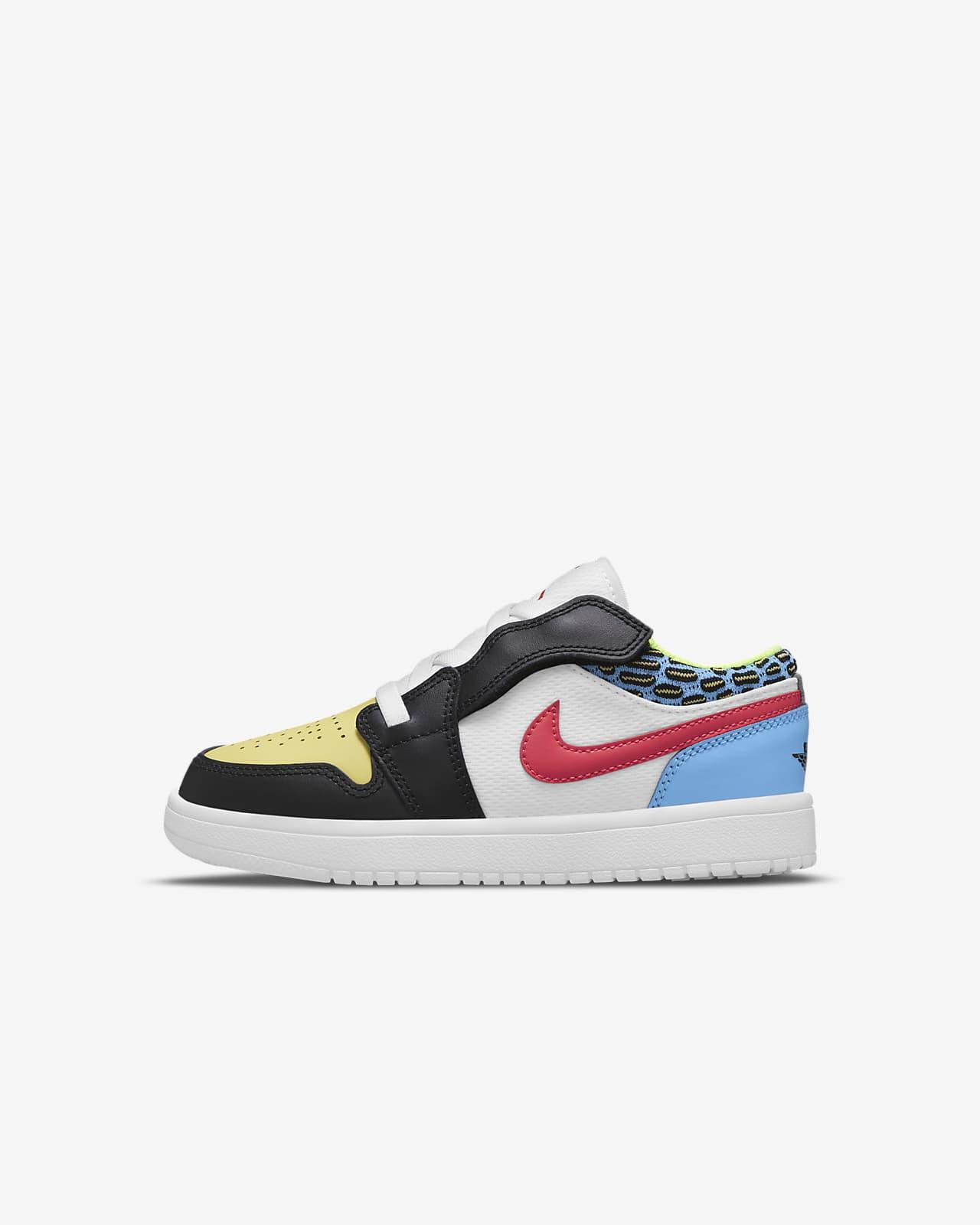 Jordan 1 低筒小童鞋款