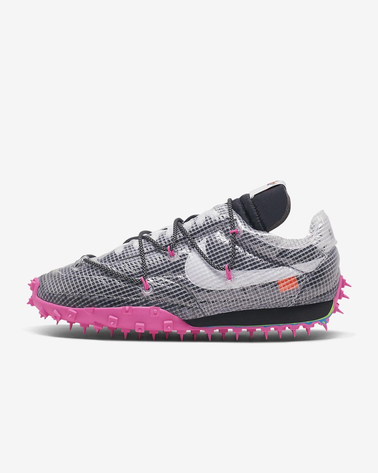 Nike Waffle Racer/OW 女子运动鞋