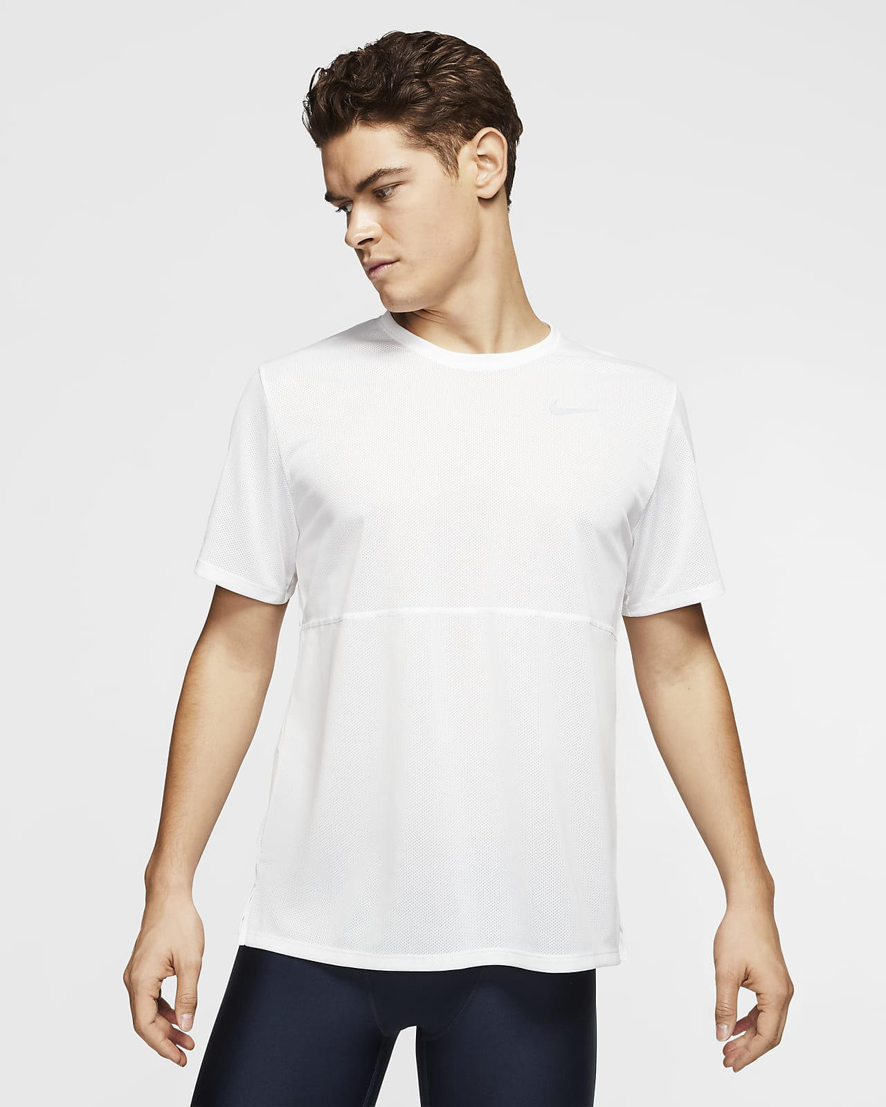 Camisola de running Nike Breathe para homem