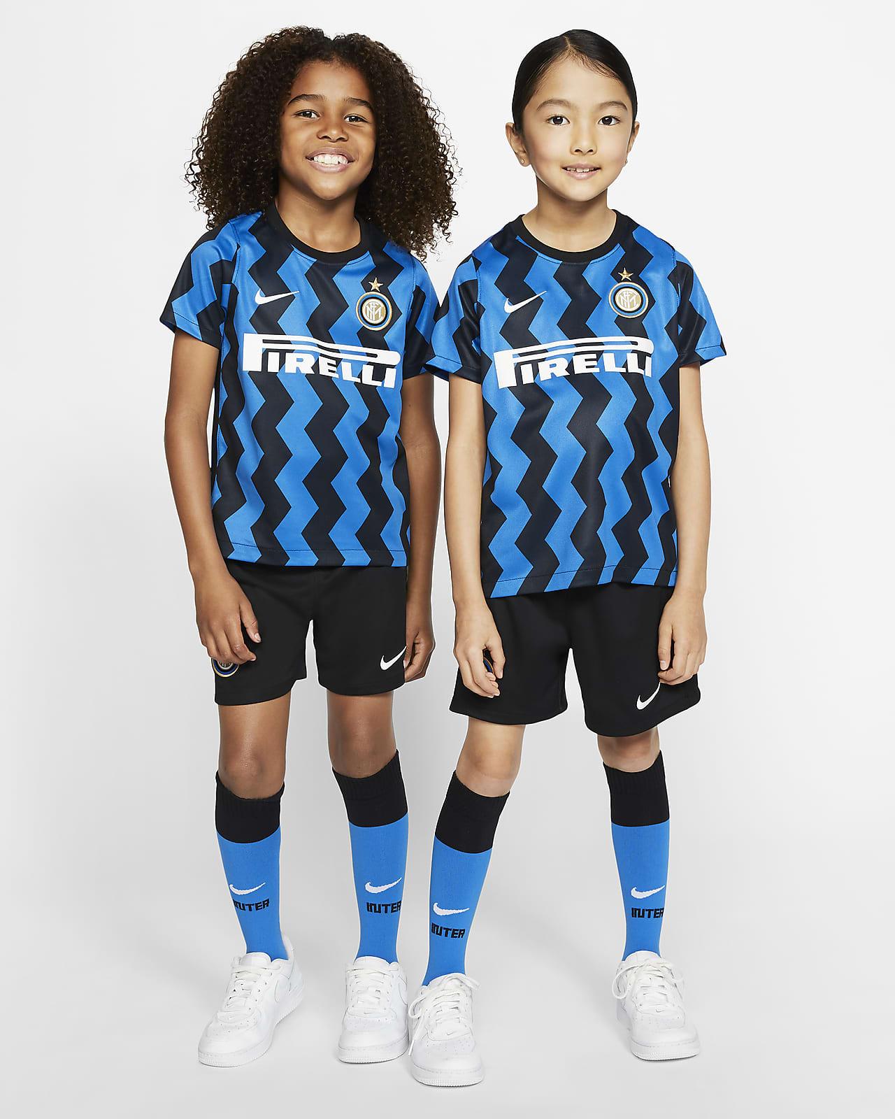 Primera equipació Inter Milan 2020/21 Equipació de futbol - Nen/a petit/a