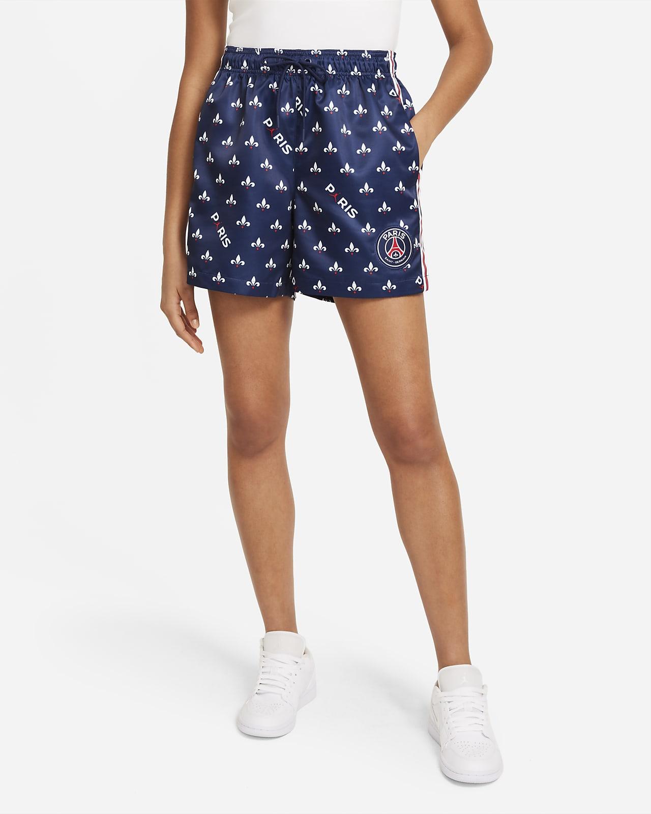 Shorts estampados para mujer del Paris Saint-Germain
