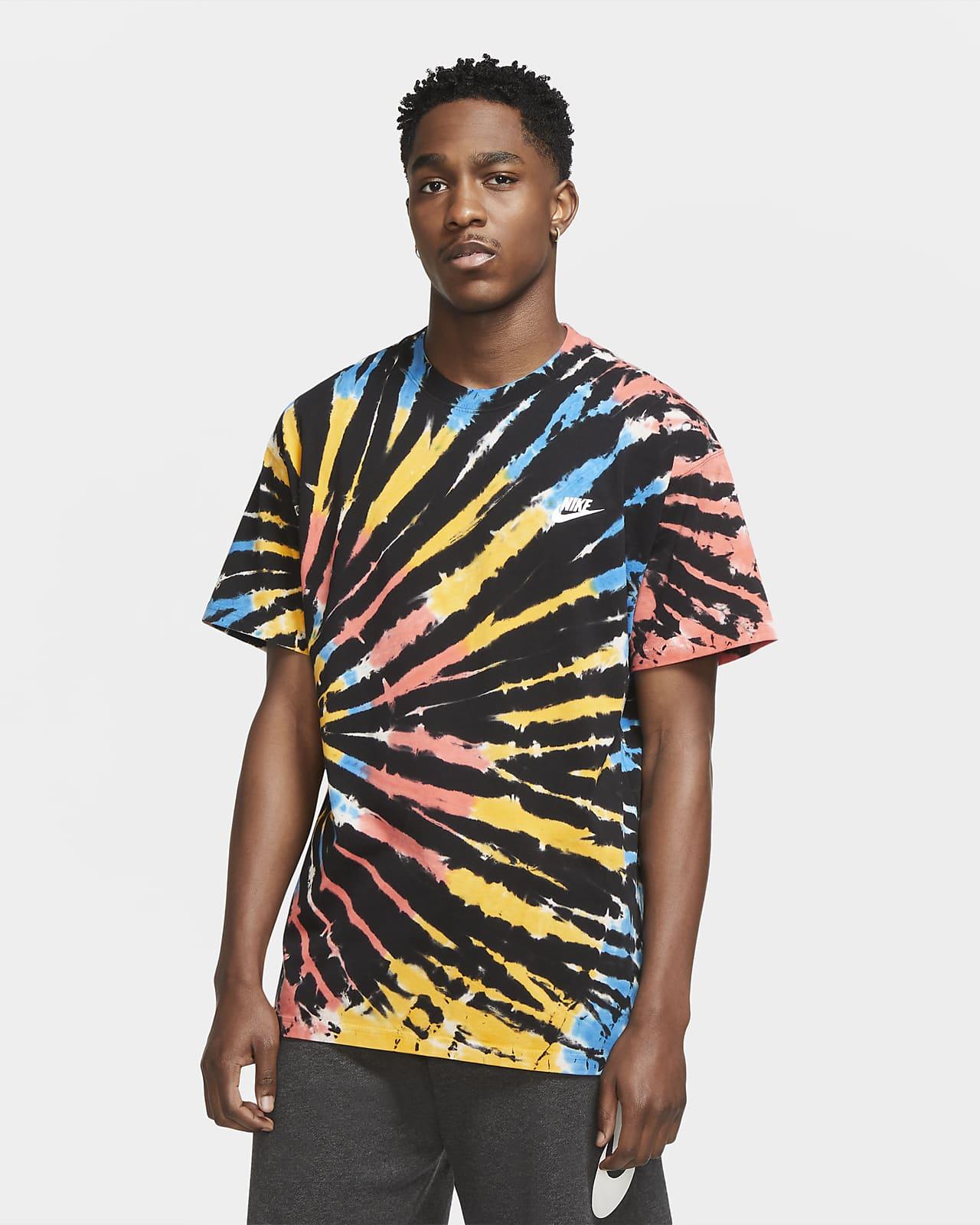 Мужская футболка с принтом тай-дай Nike Sportswear