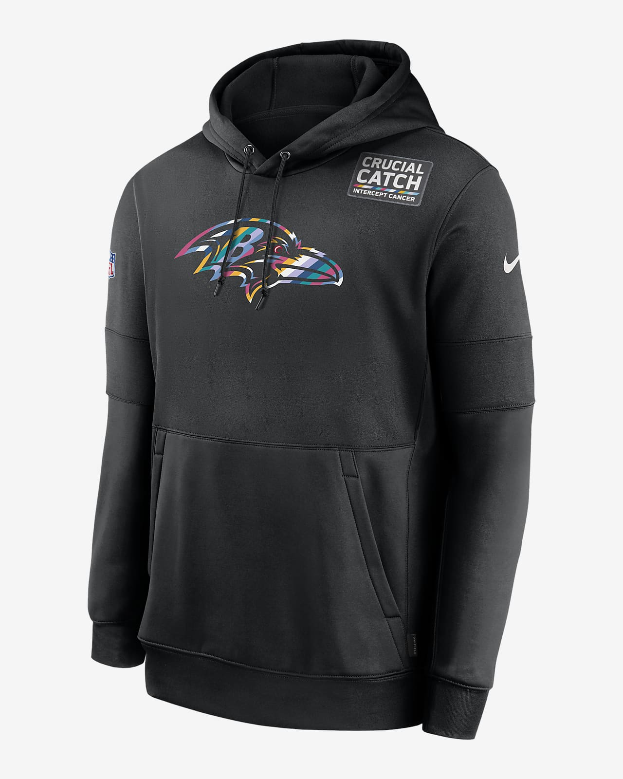 Nike Therma Crucial Catch (NFL Ravens) Men's Hoodie