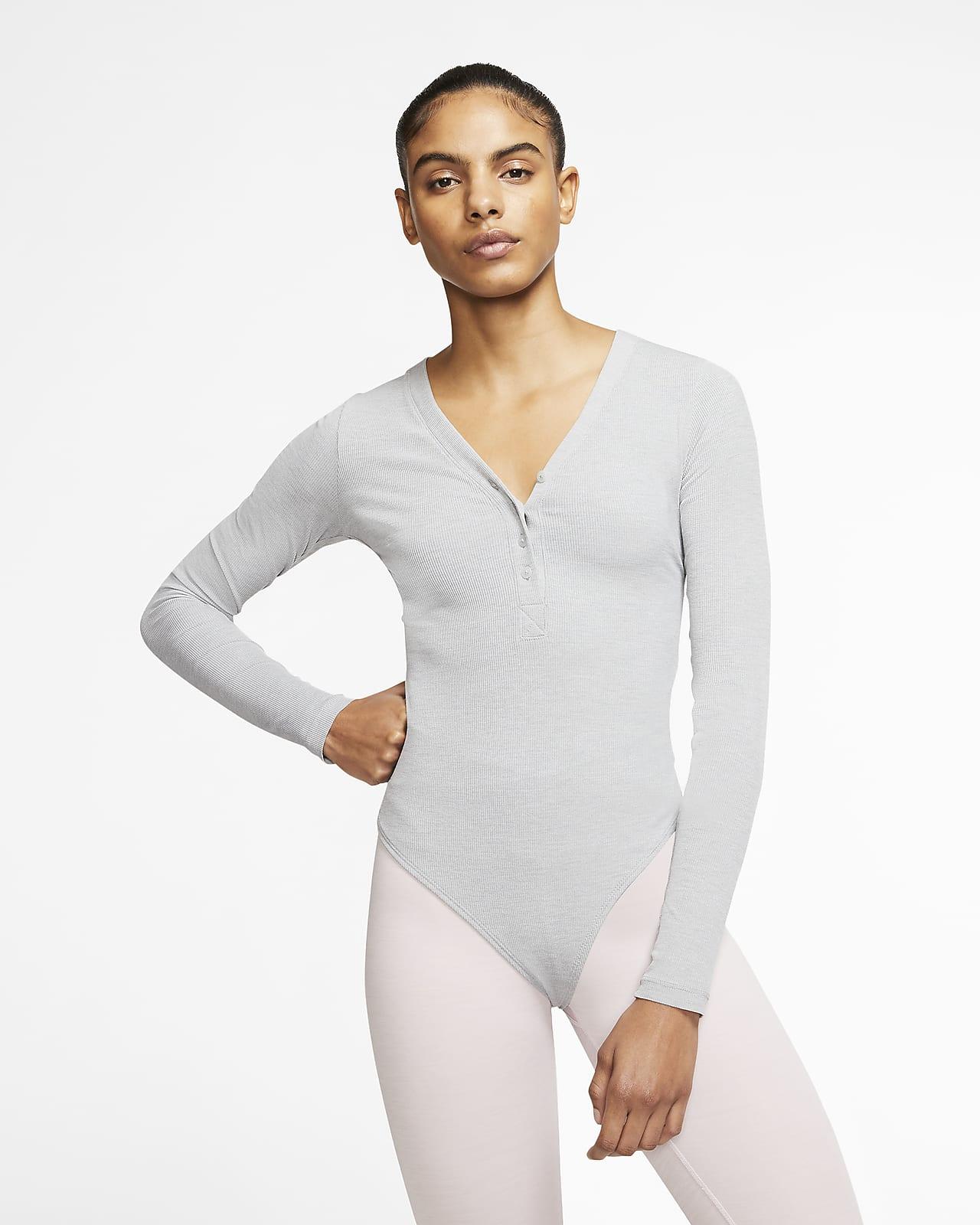 Dámské body Nike Yoga Luxe s dlouhým rukávem z Infinalonu
